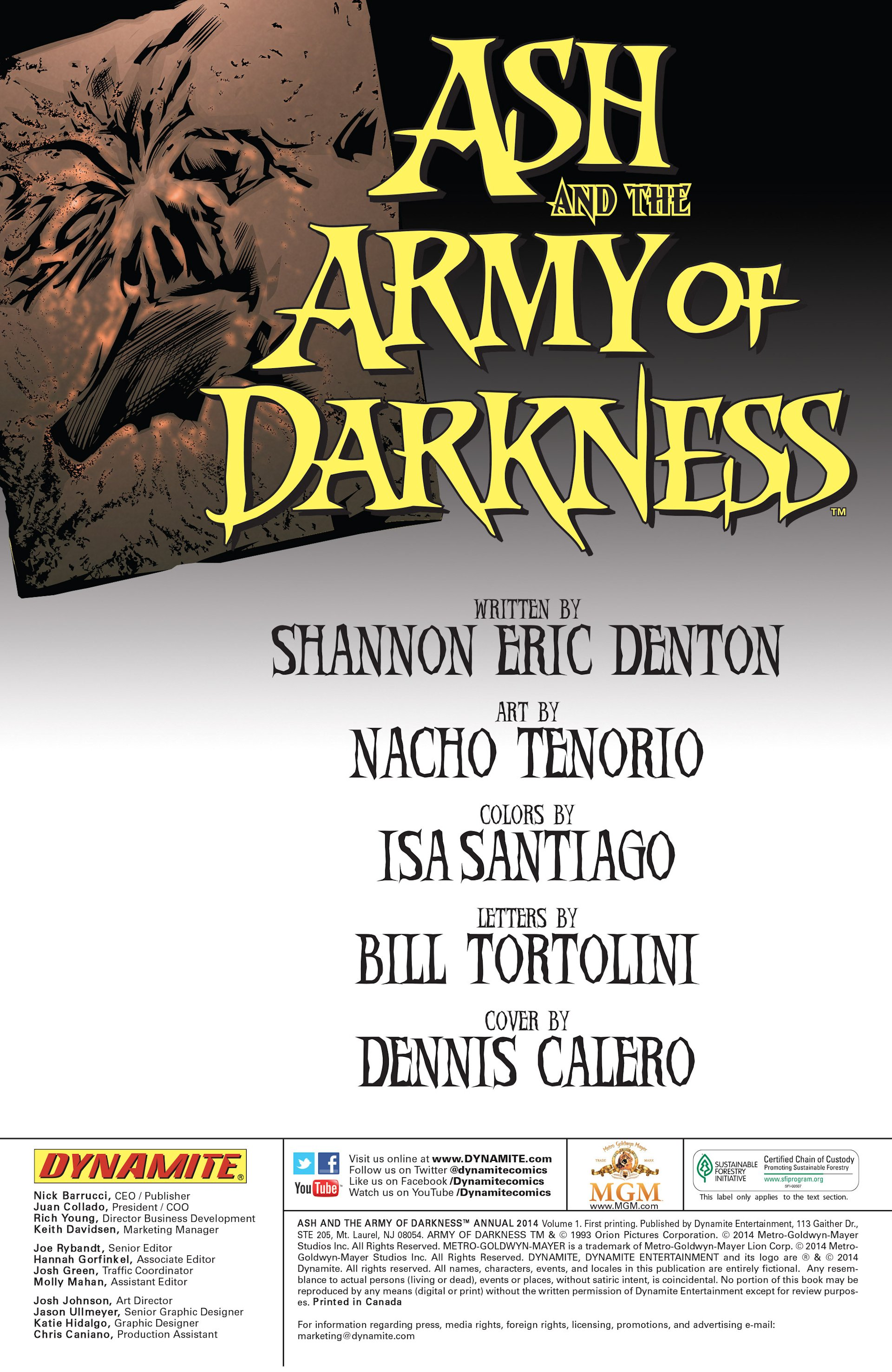 Read online Ash and the Army of Darkness comic -  Issue #Ash and the Army of Darkness _Annual 1 - 2