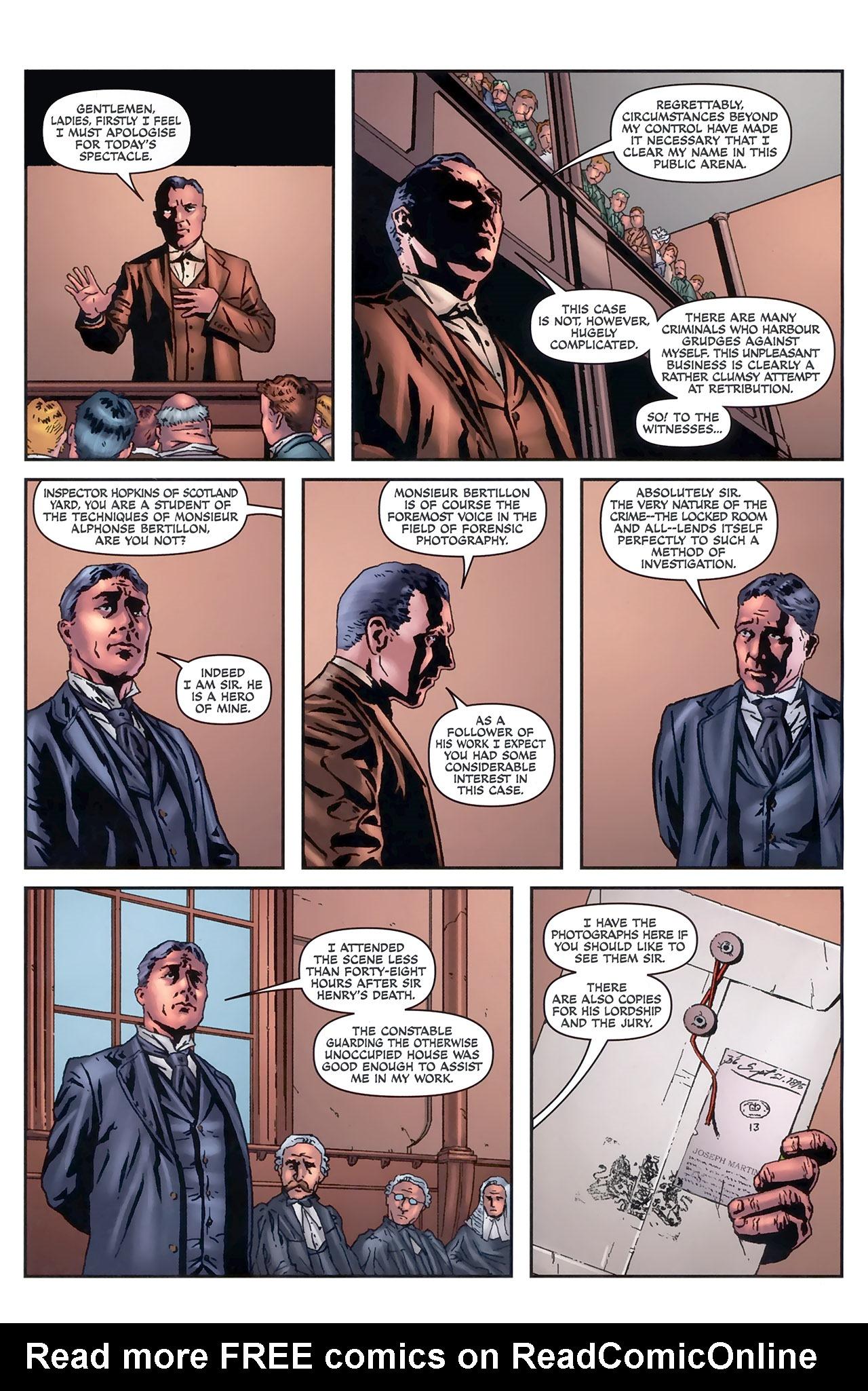 Read online Sherlock Holmes (2009) comic -  Issue #5 - 13