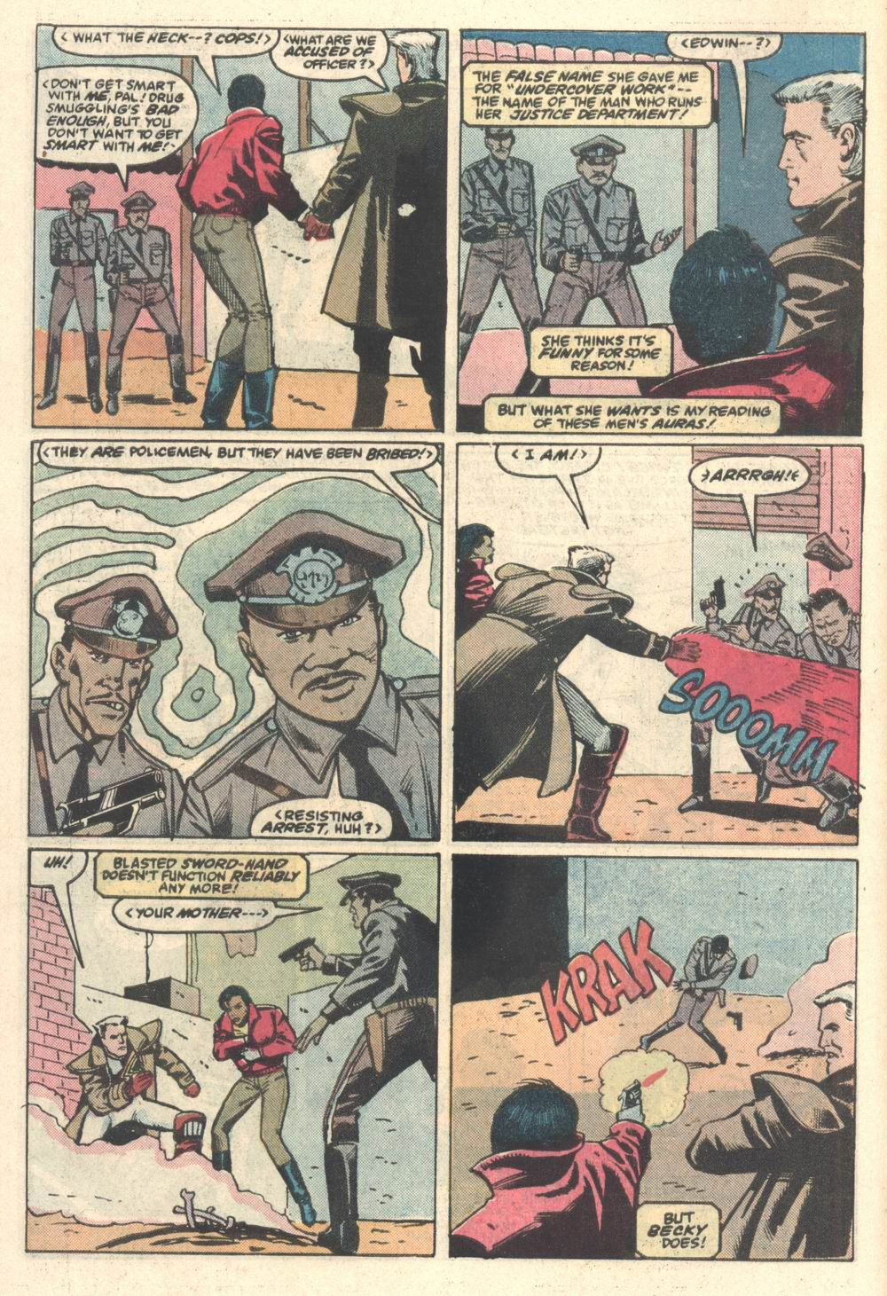 Read online Justice (1986) comic -  Issue #5 - 5
