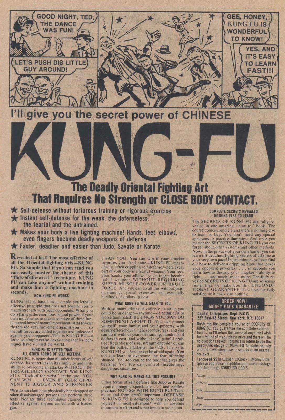 Read online Strange Sports Stories (1973) comic -  Issue #5 - 14