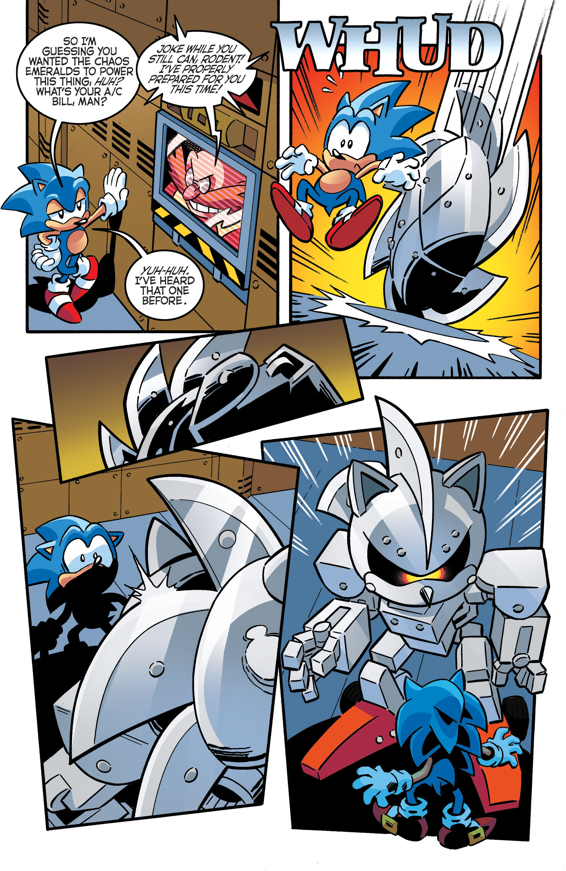 Read online Sonic The Hedgehog comic -  Issue #289 - 18