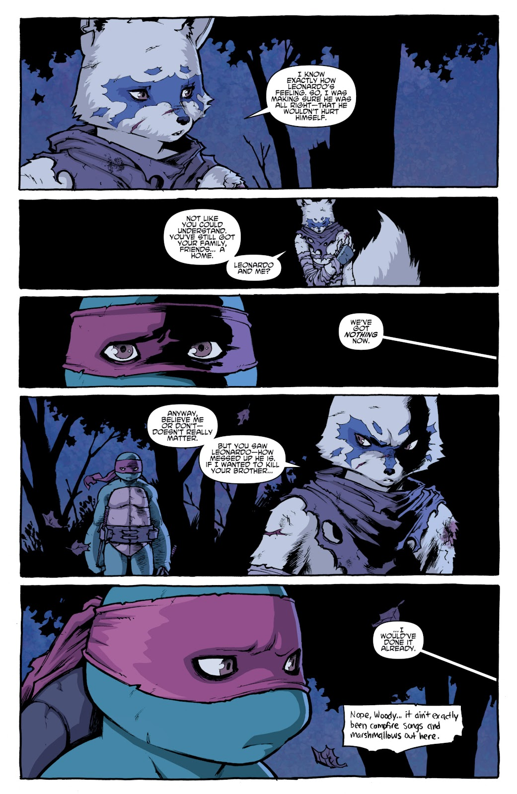 Read online Teenage Mutant Ninja Turtles: The IDW Collection comic -  Issue # TPB 4 (Part 1) - 58