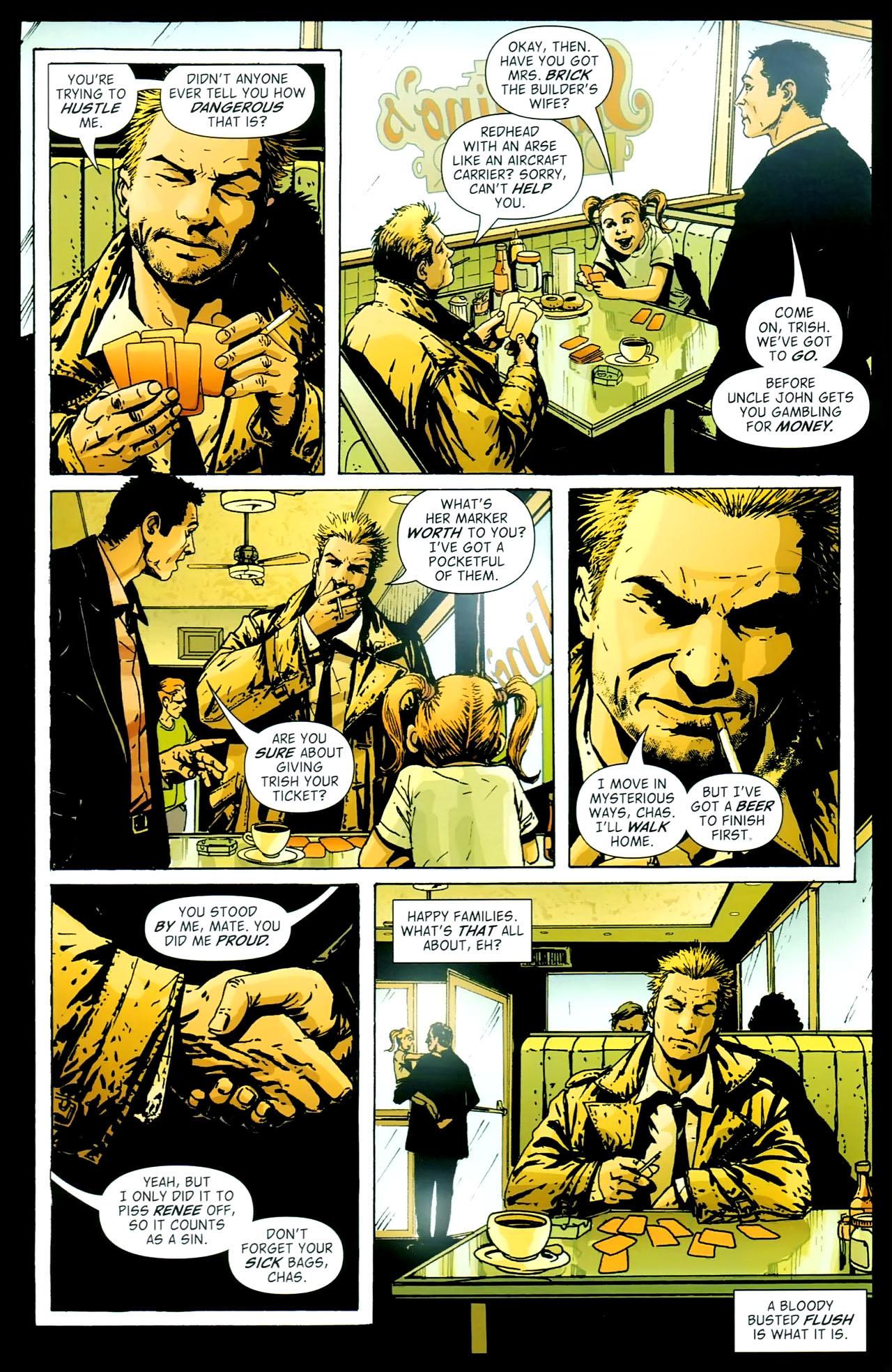 Read online John Constantine Hellblazer: All His Engines comic -  Issue # Full - 116