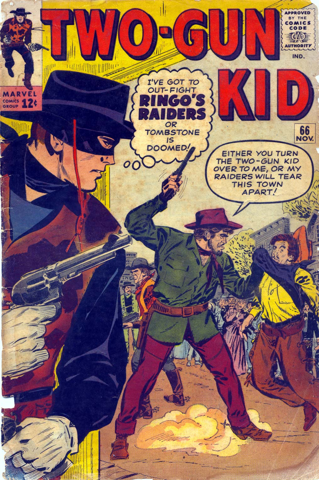 Read online Two-Gun Kid comic -  Issue #66 - 1