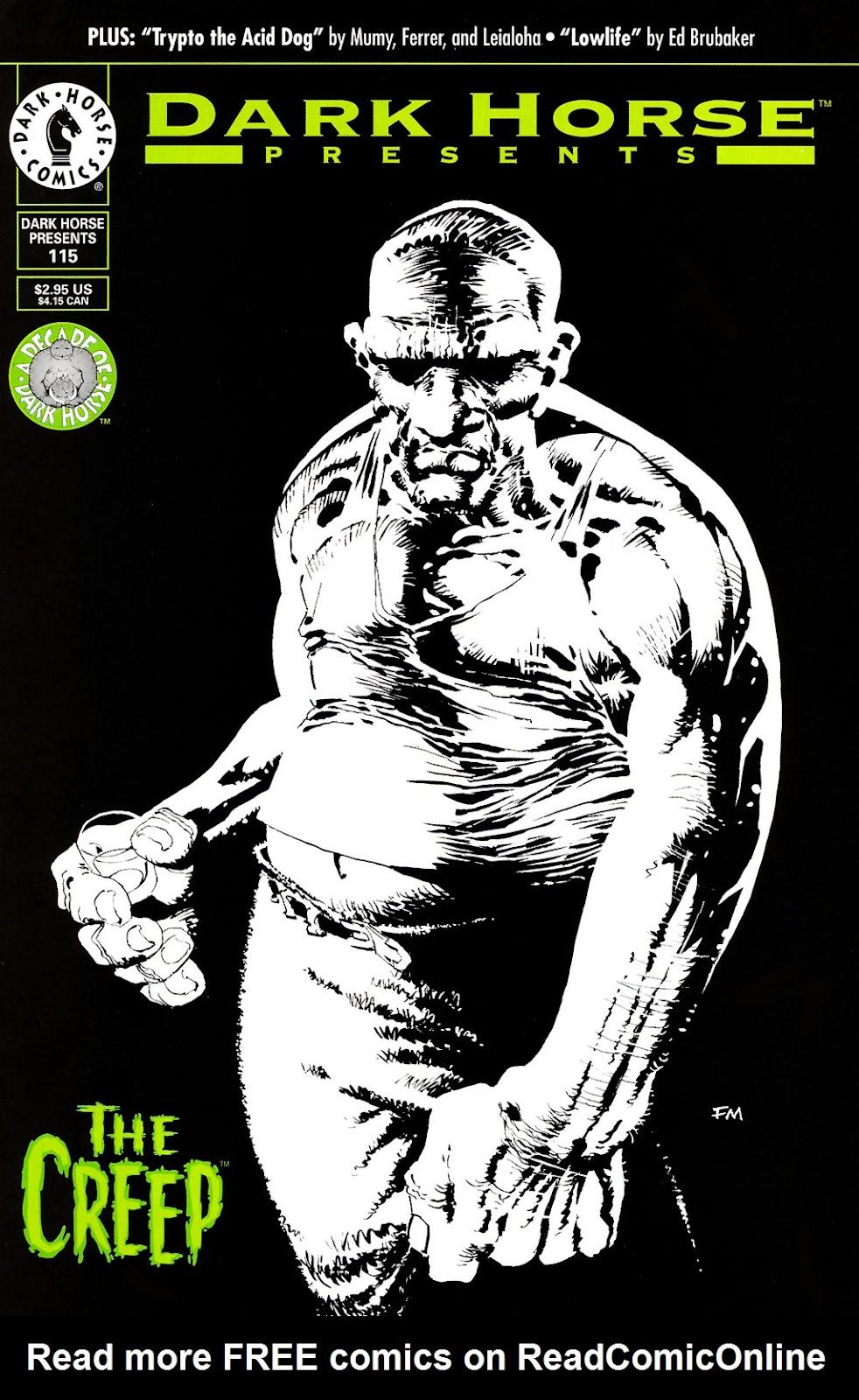 Dark Horse Presents (1986) issue 115 - Page 1