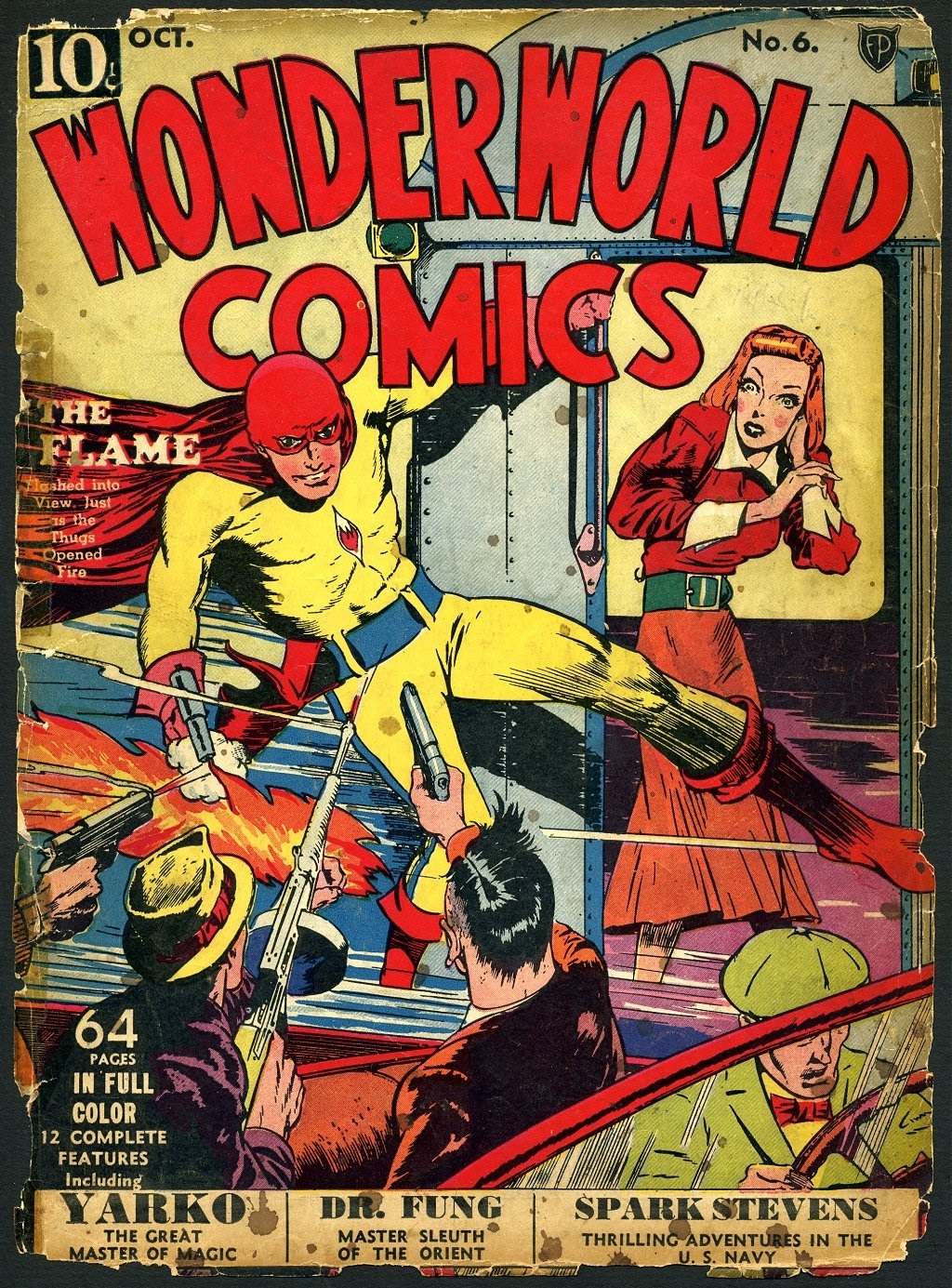 Wonderworld Comics issue 6 - Page 1