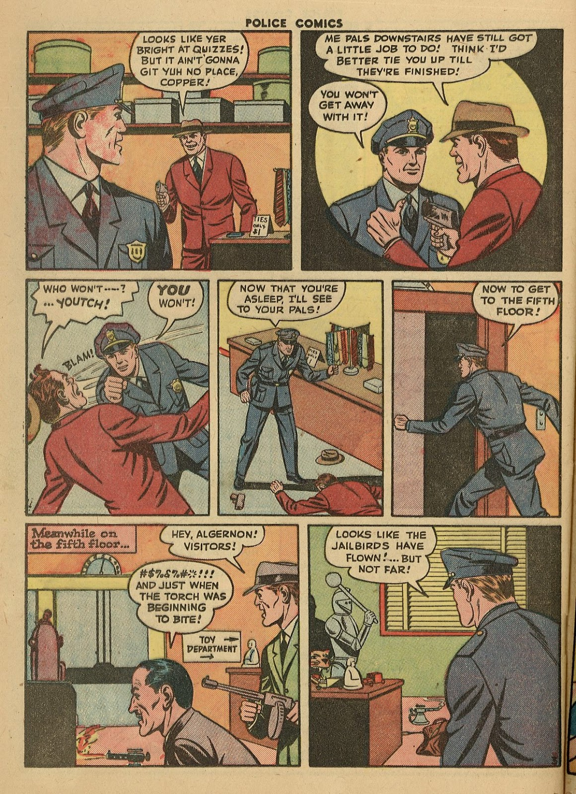 Police Comics issue 45 - Page 40