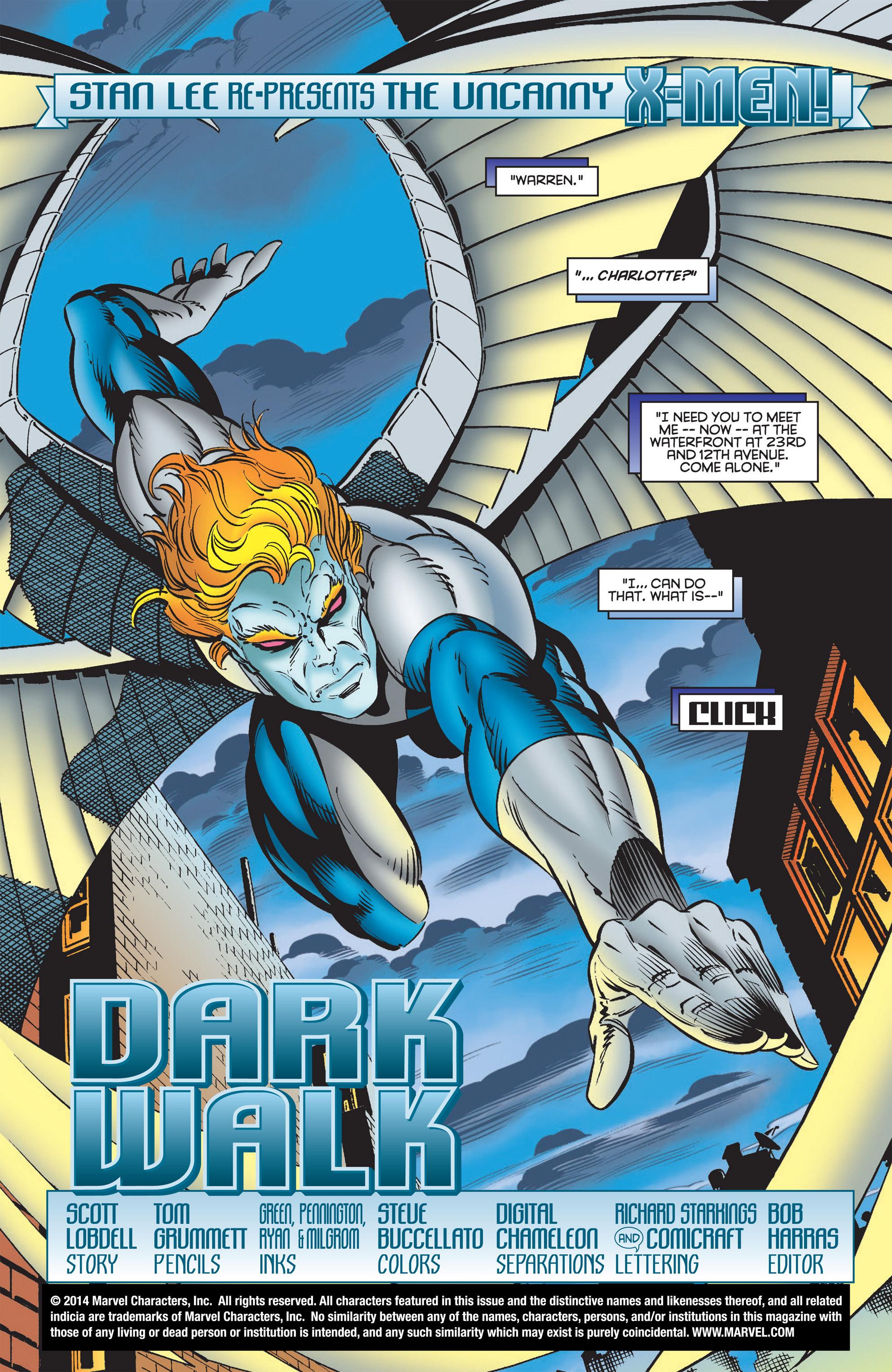 Read online Uncanny X-Men (1963) comic -  Issue #322 - 2