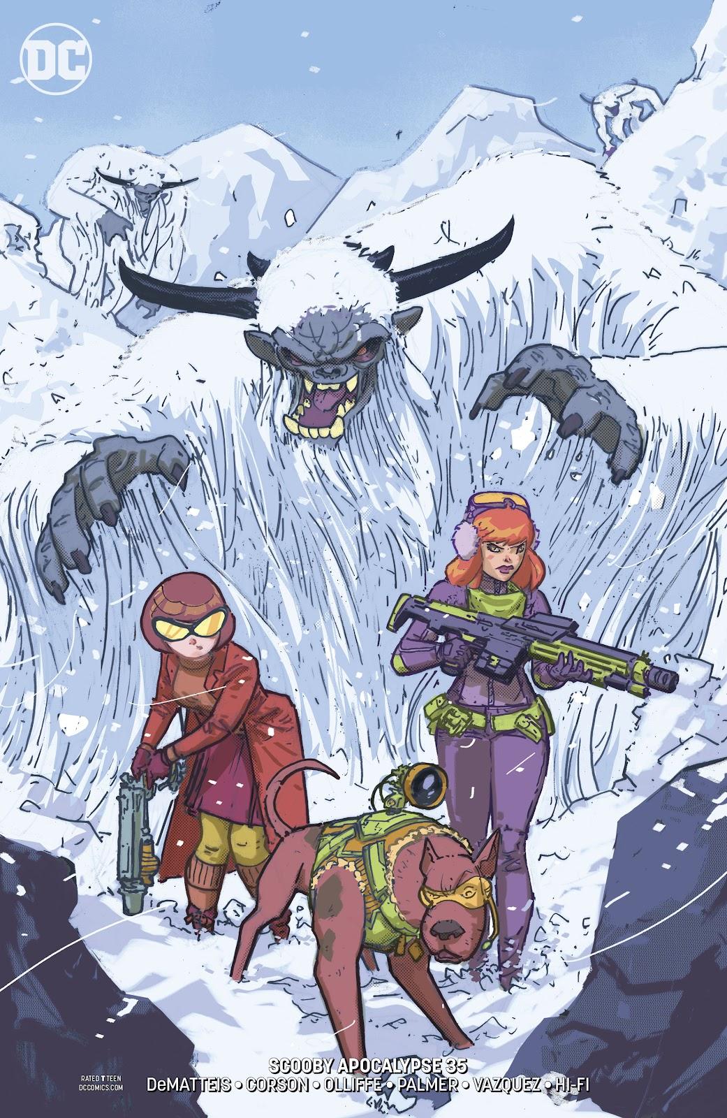 Read online Scooby Apocalypse comic -  Issue #35 - 3