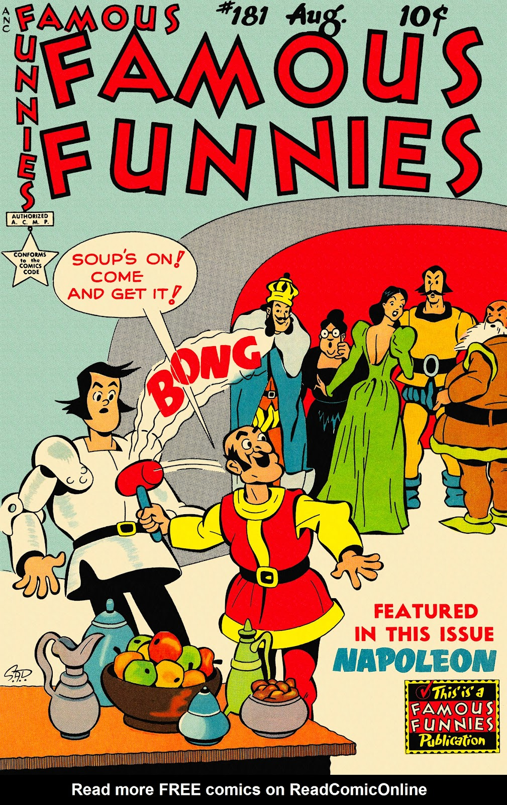 Read online Famous Funnies comic -  Issue #181 - 1