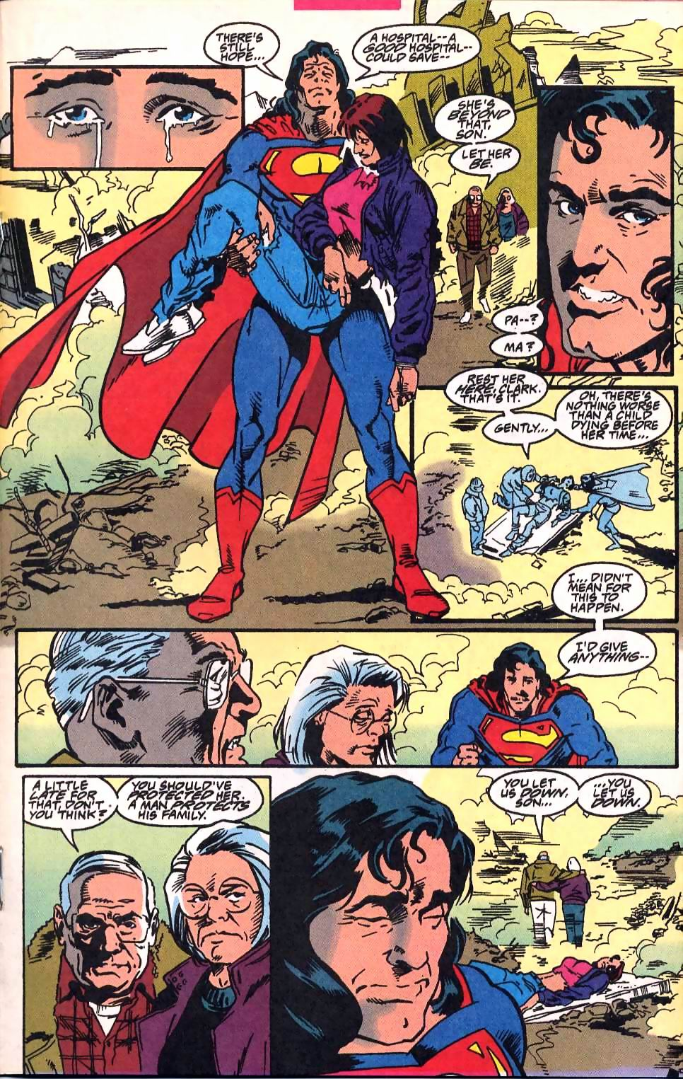 Read online Adventures of Superman (1987) comic -  Issue #514 - 14