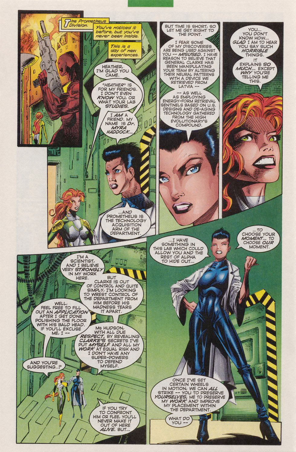 Read online Alpha Flight (1997) comic -  Issue #10 - 10