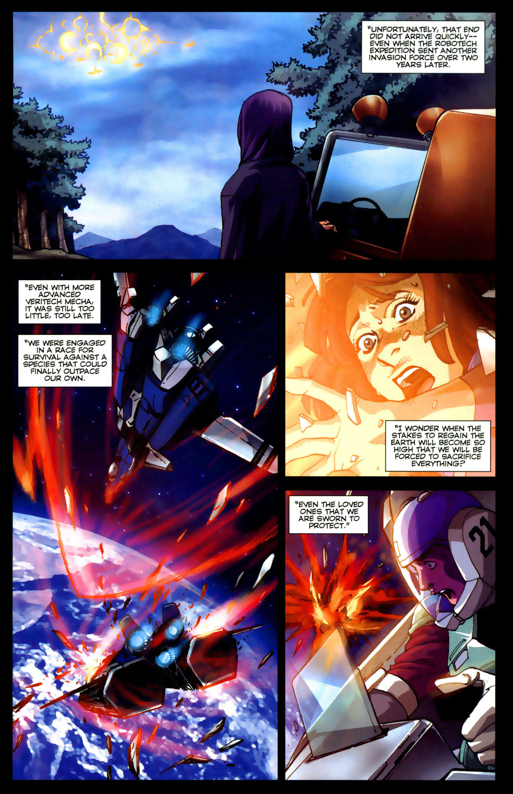 Read online Robotech: Invasion comic -  Issue #5 - 13
