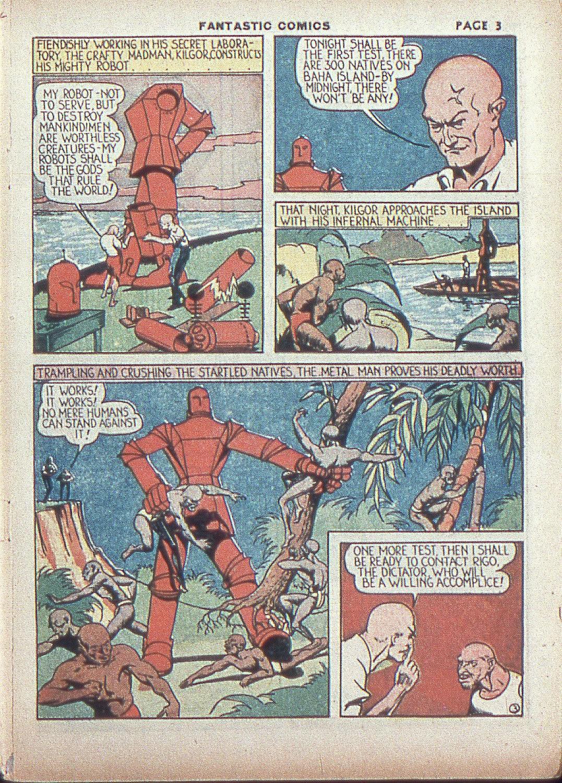Read online Fantastic Comics comic -  Issue #4 - 5