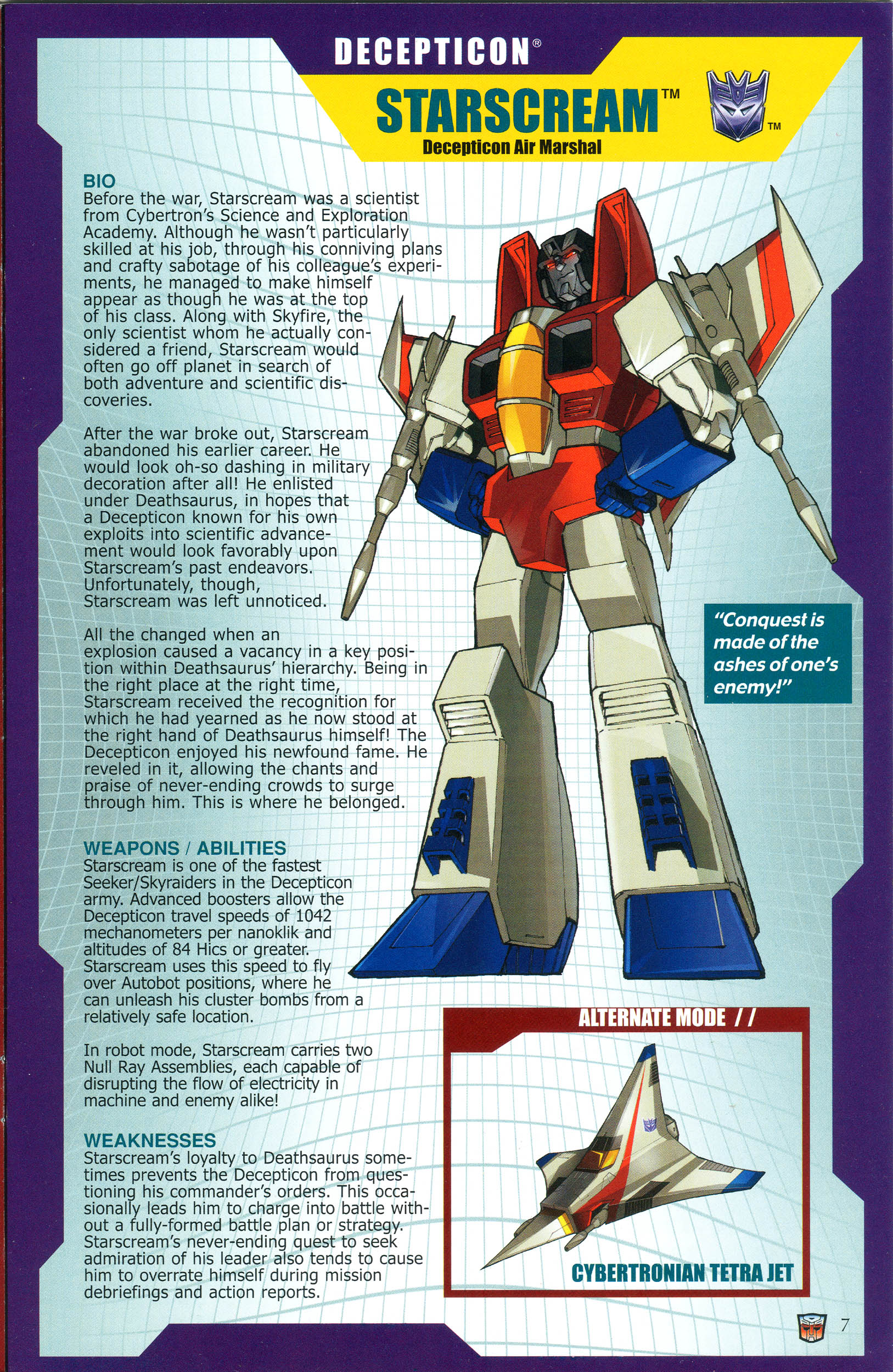 Read online Transformers: Collectors' Club comic -  Issue #37 - 7