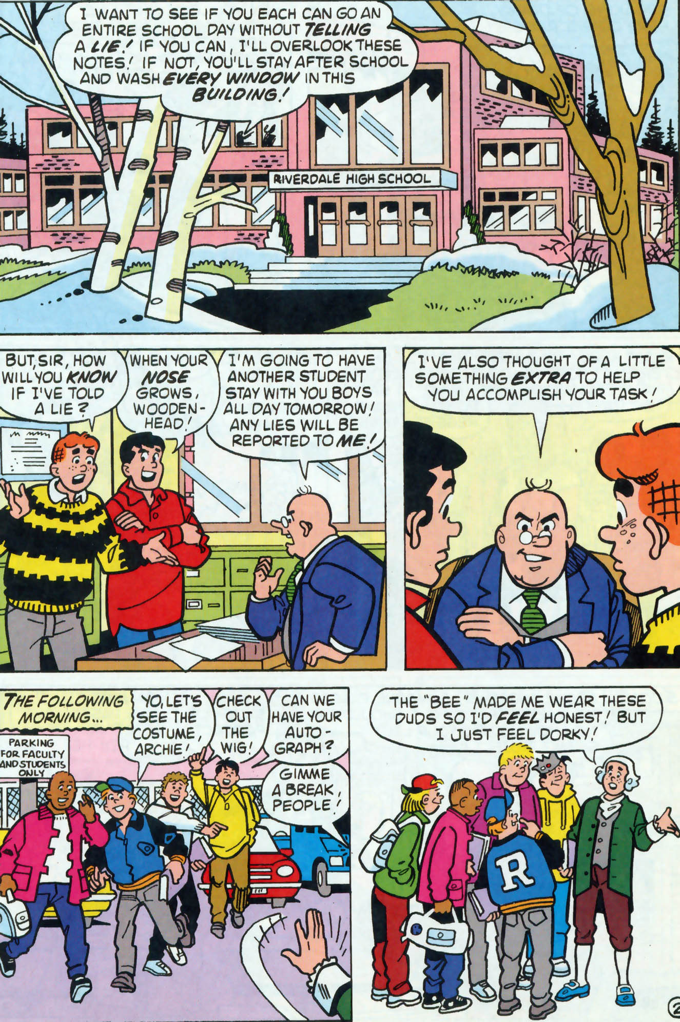 Read online Archie (1960) comic -  Issue #458 - 16