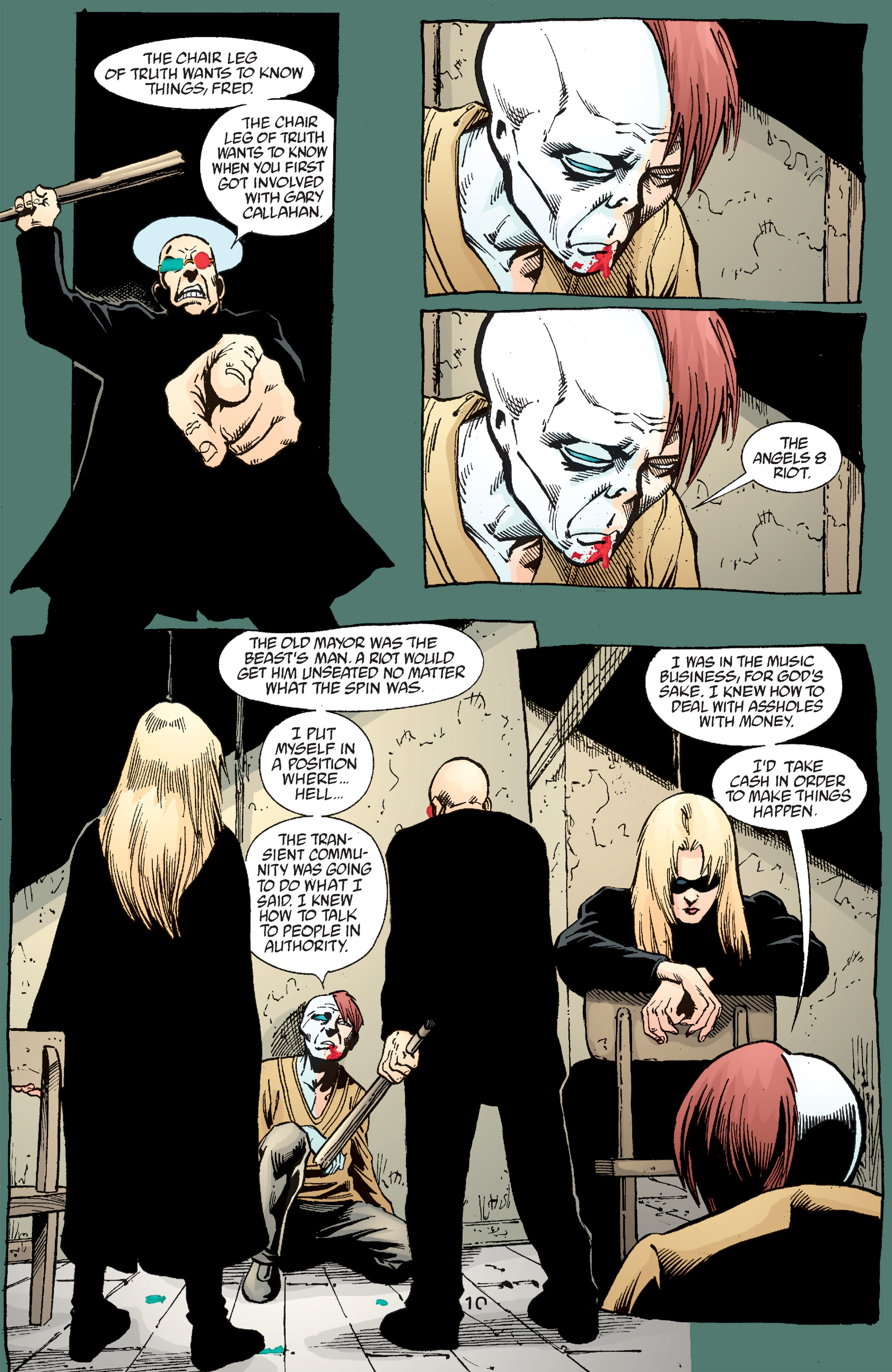 Read online Transmetropolitan comic -  Issue #50 - 11