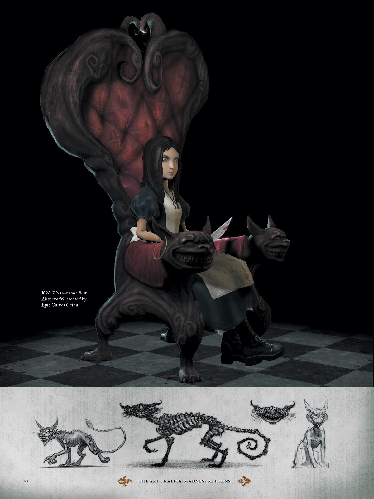 Read online The Art of Alice: Madness Returns comic -  Issue # TPB (Part 1) - 47