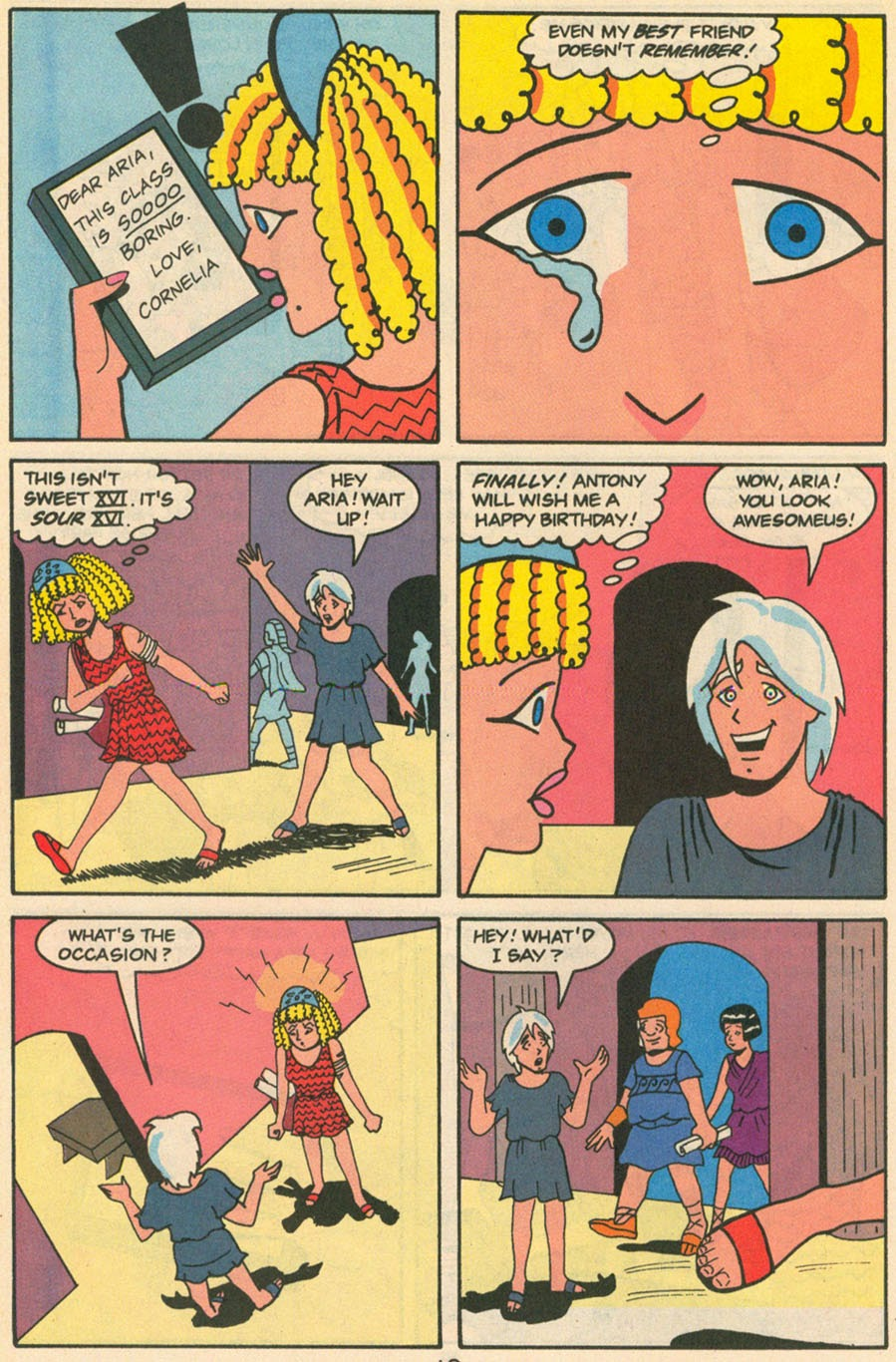 Read online Sweet XVI (Sixteen): Back To School Special comic -  Issue # Full - 52