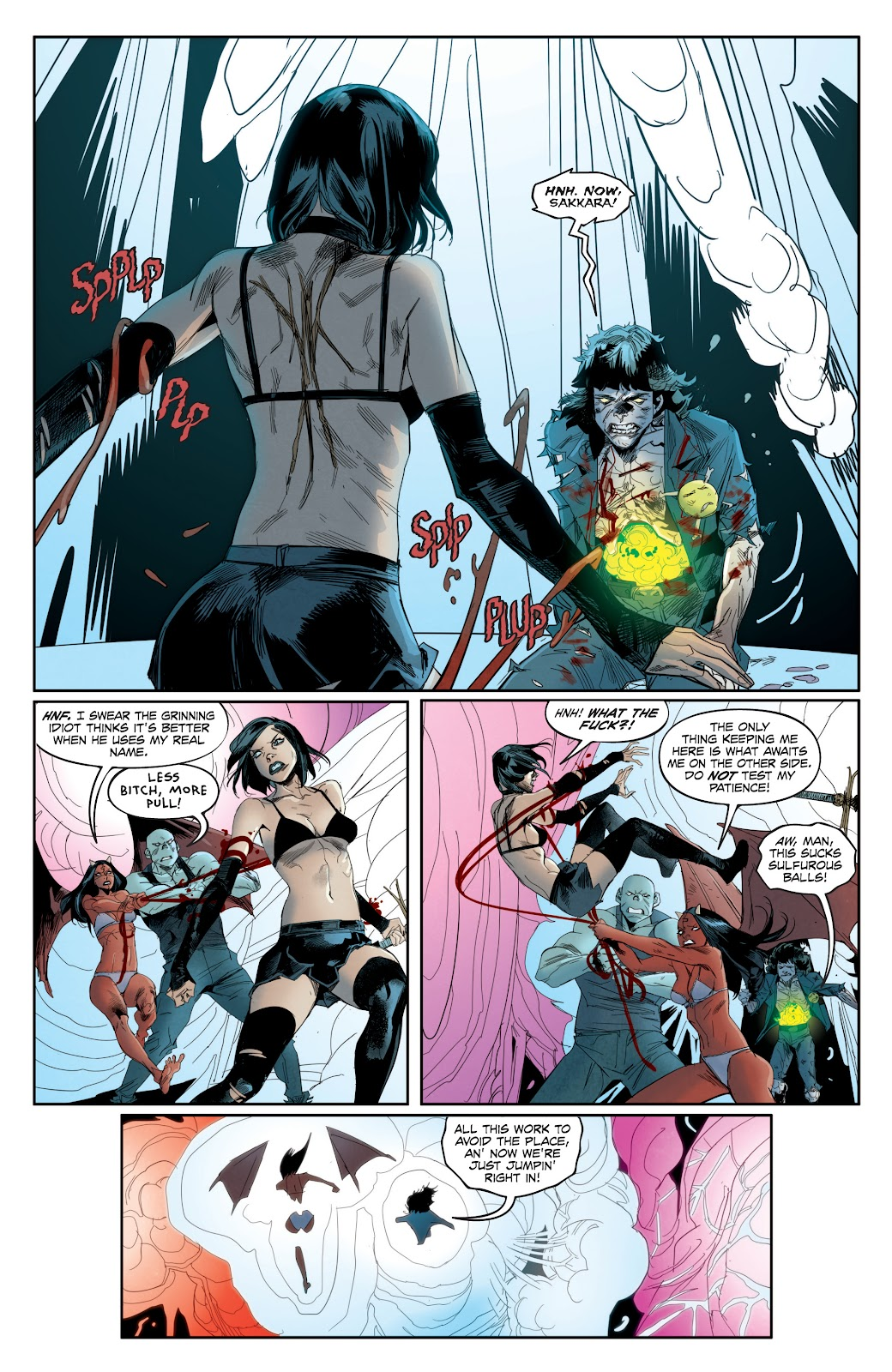 Read online Hack/Slash vs. Chaos comic -  Issue #4 - 20