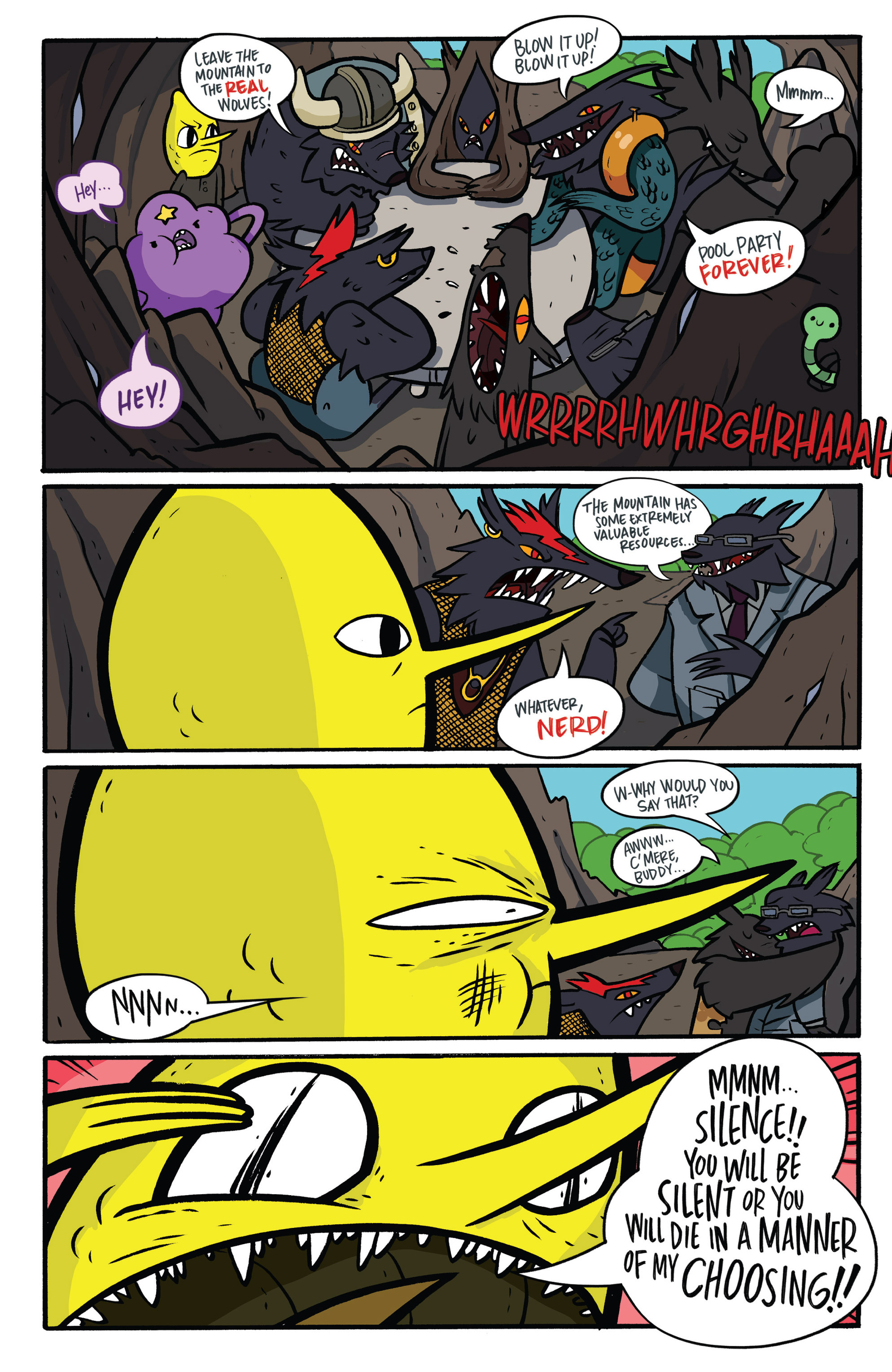 Read online Adventure Time: Candy Capers comic -  Issue #3 - 23