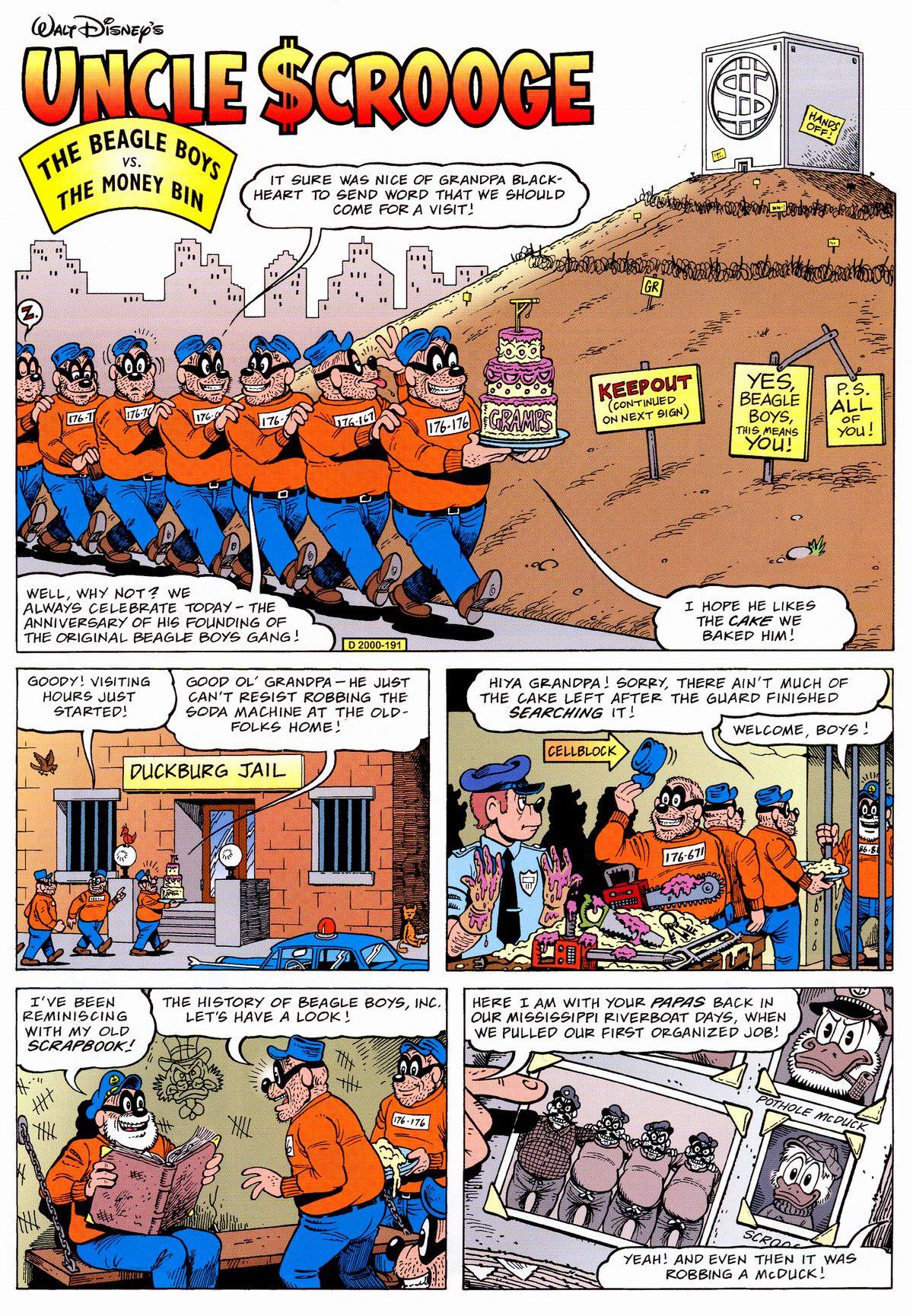 Read online Uncle Scrooge (1953) comic -  Issue #325 - 3
