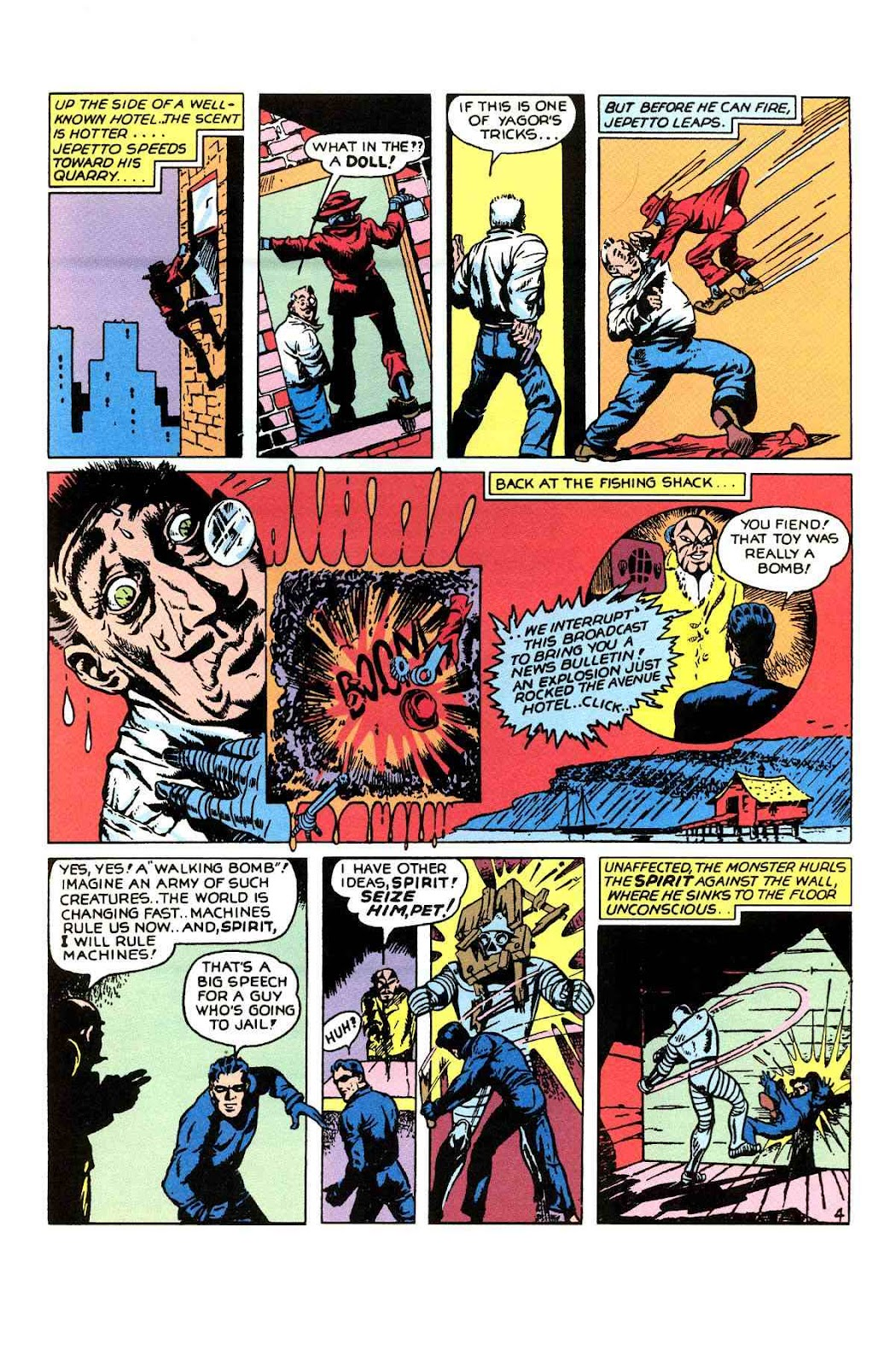 Read online Will Eisner's The Spirit Archives comic -  Issue # TPB 1 (Part 1) - 68