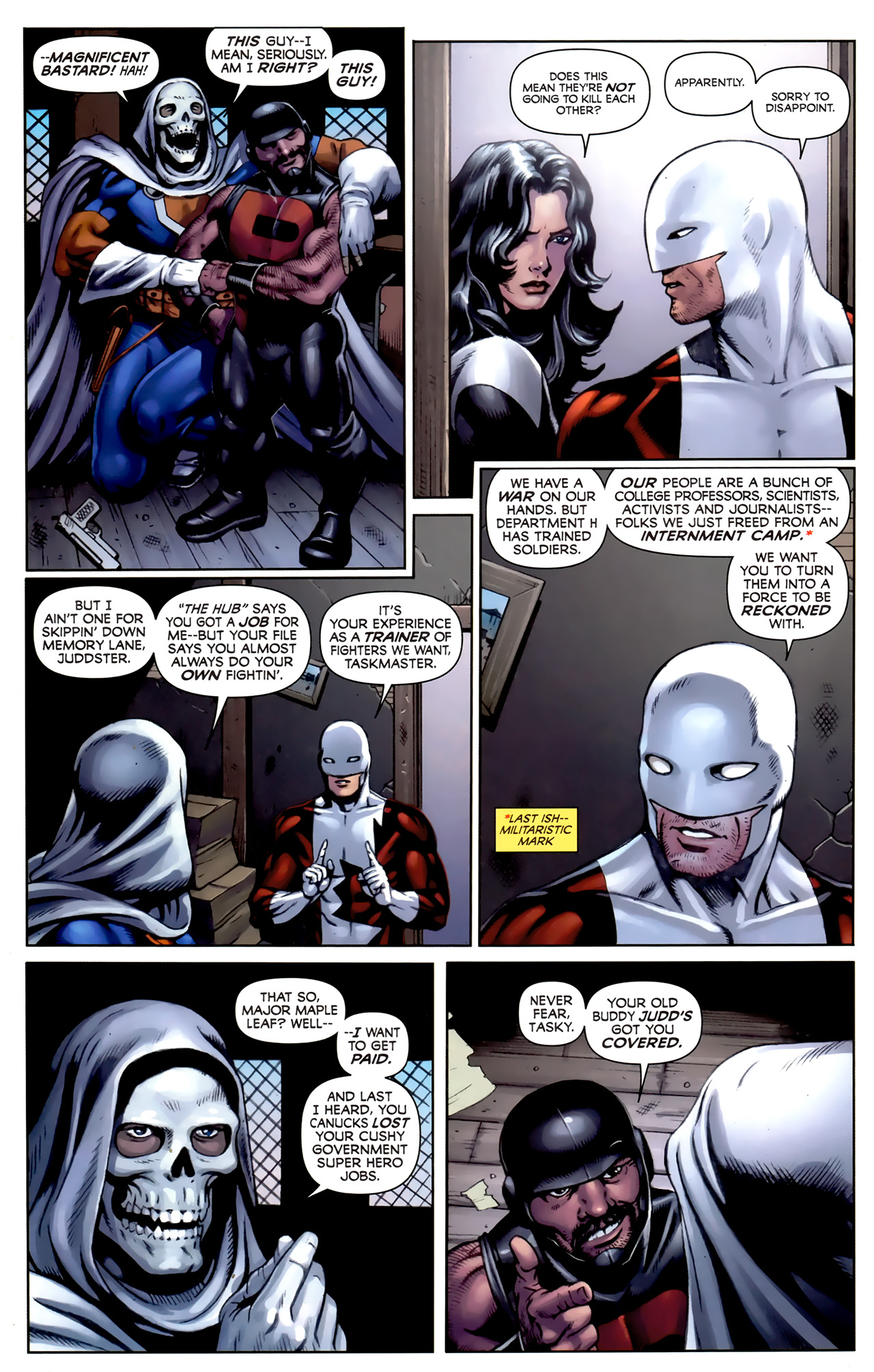 Read online Alpha Flight (2011) comic -  Issue #5 - 8
