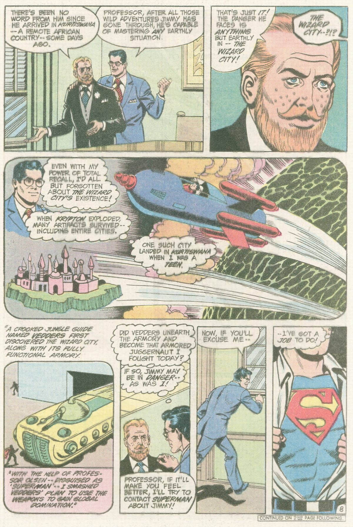 Read online Action Comics (1938) comic -  Issue #565 - 10