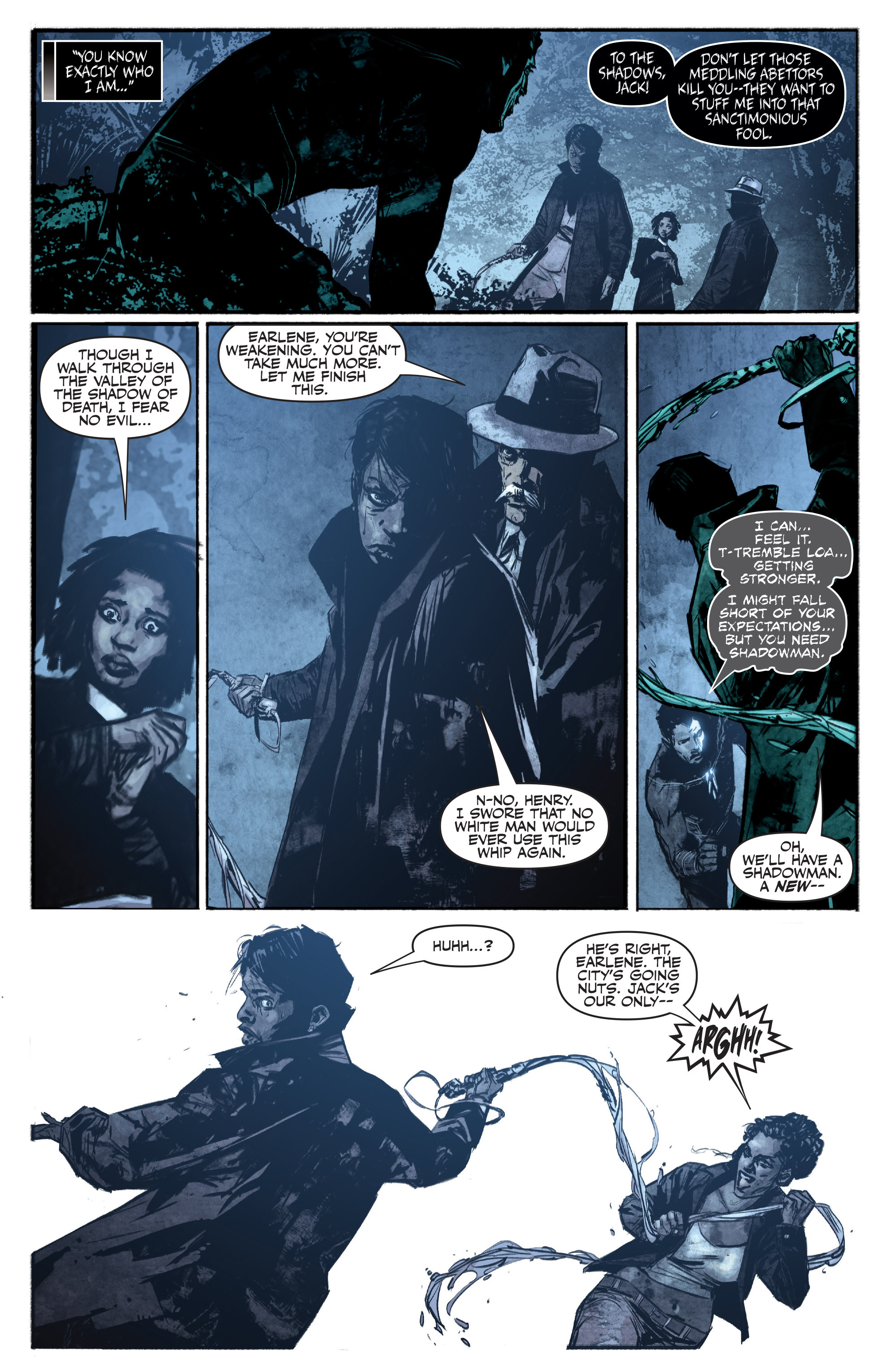 Read online Shadowman (2012) comic -  Issue #16 - 5
