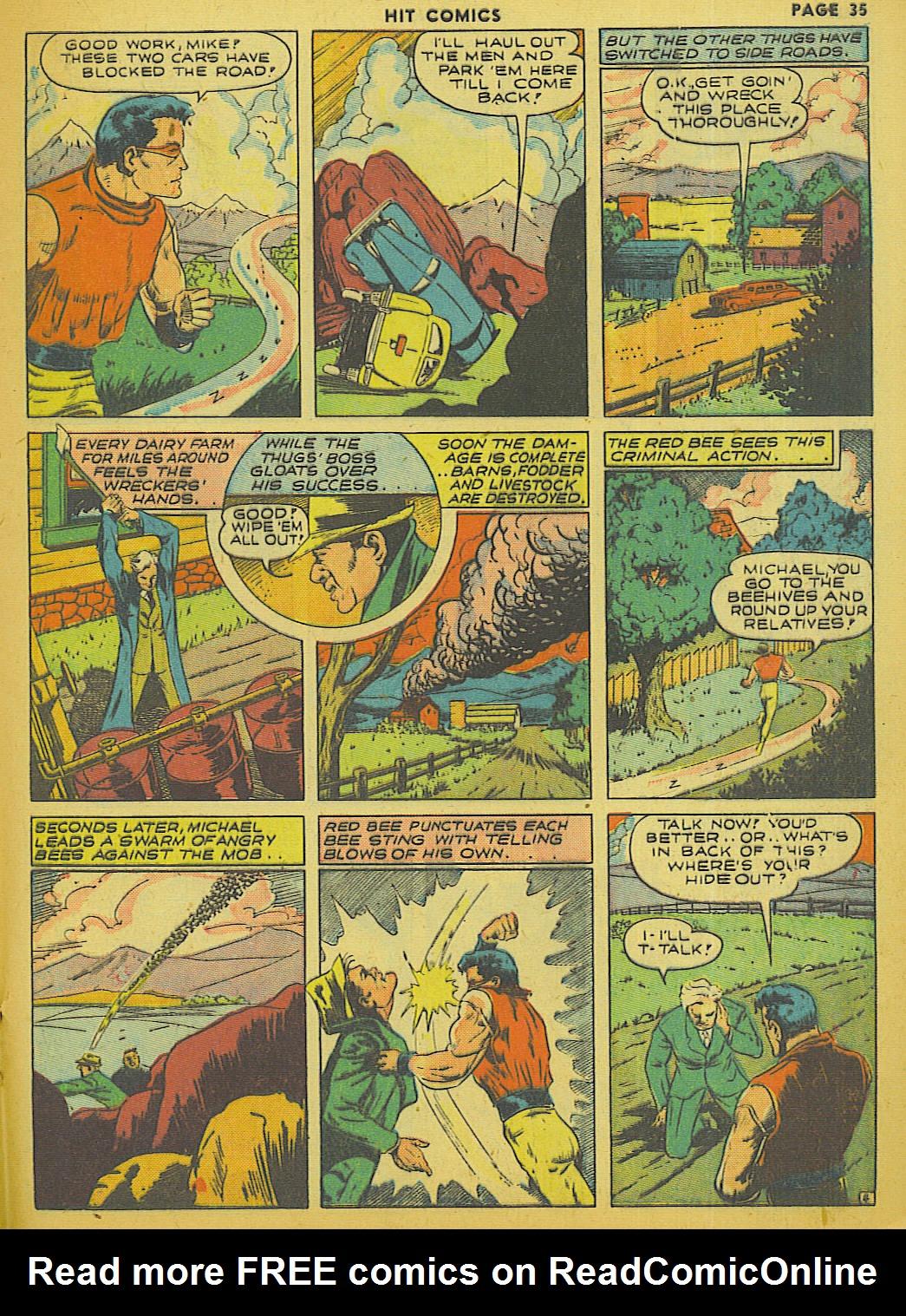Read online Hit Comics comic -  Issue #13 - 37
