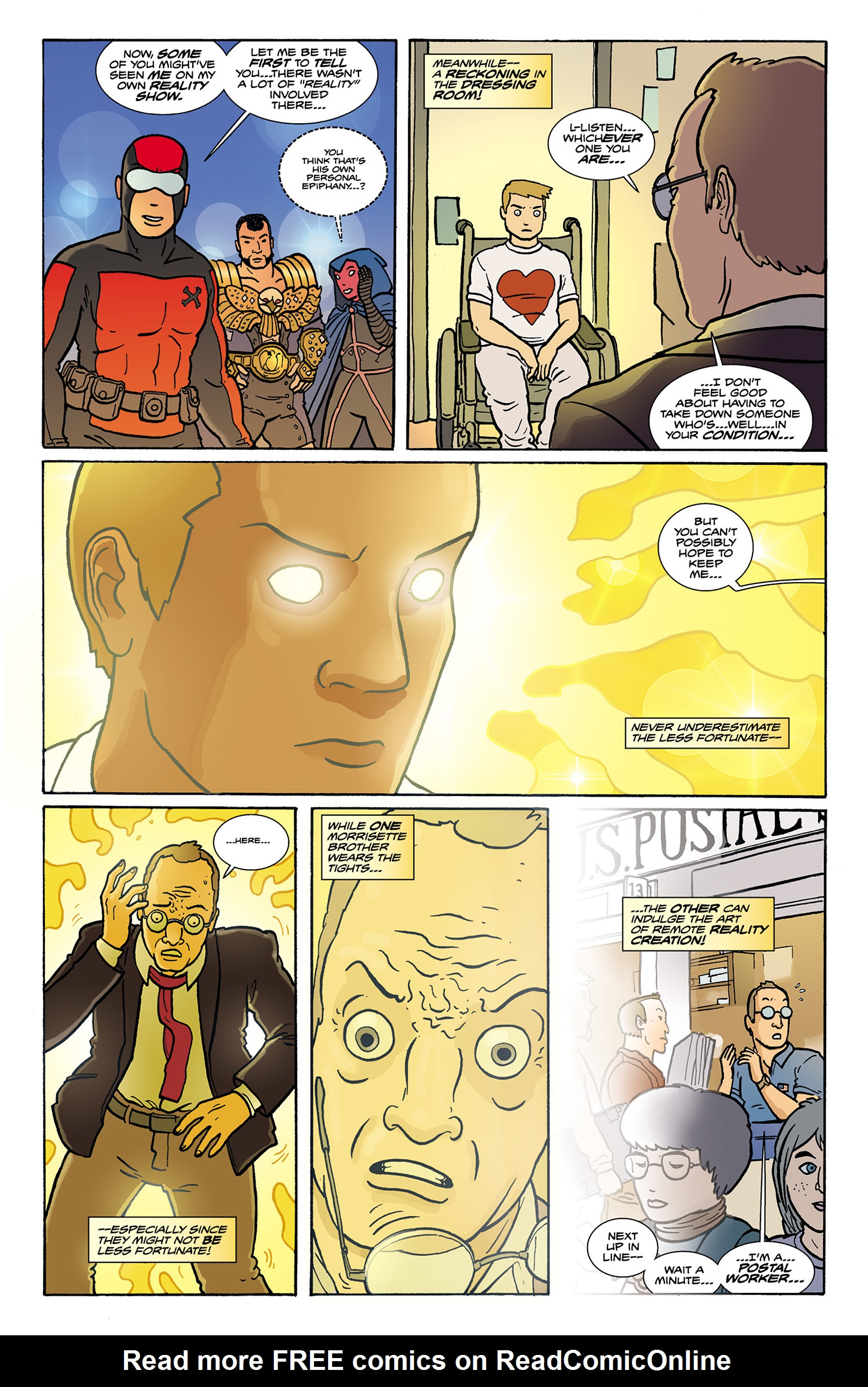 Read online Catalyst Comix comic -  Issue #9 - 15