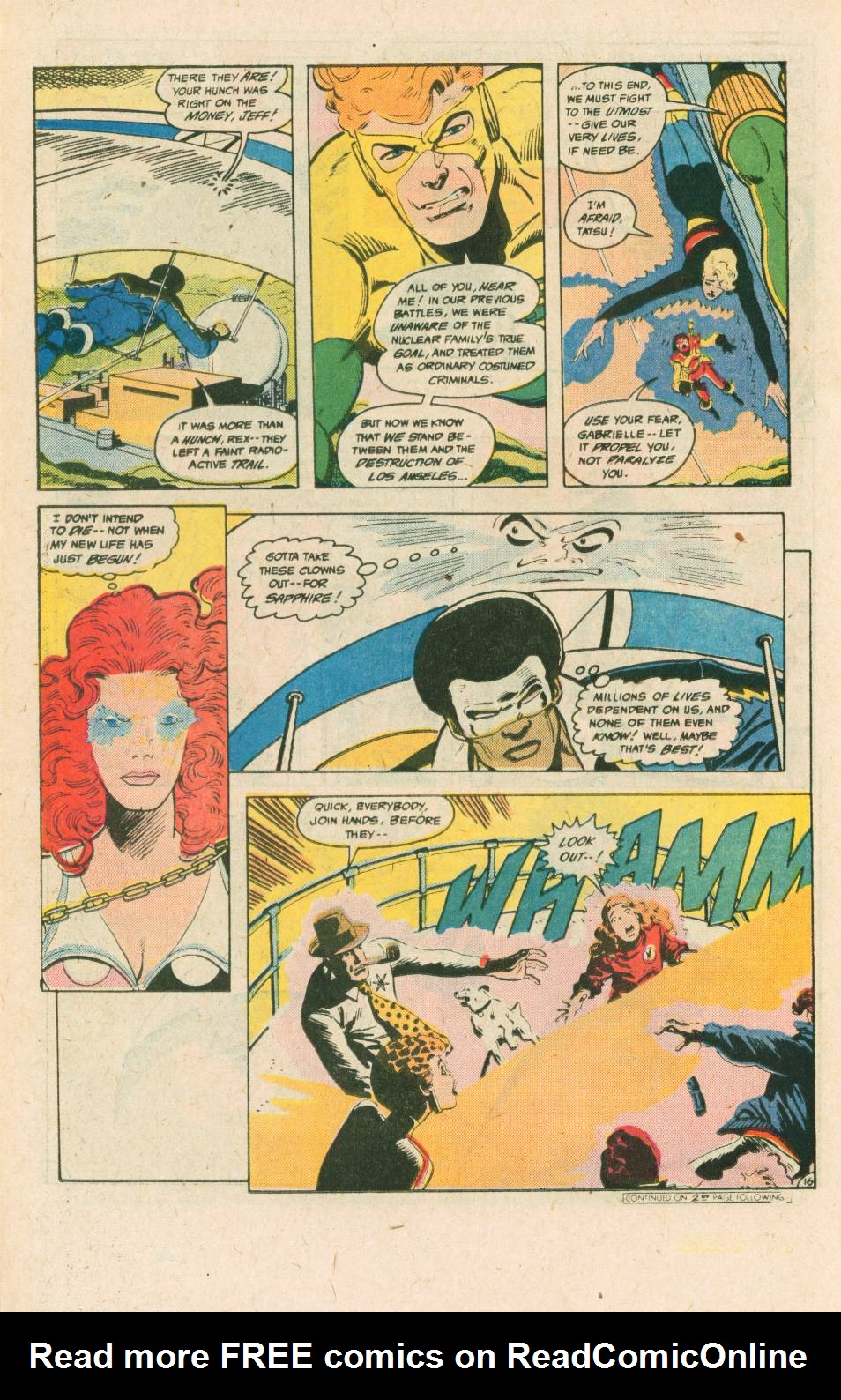 Read online Adventures of the Outsiders comic -  Issue #40 - 17