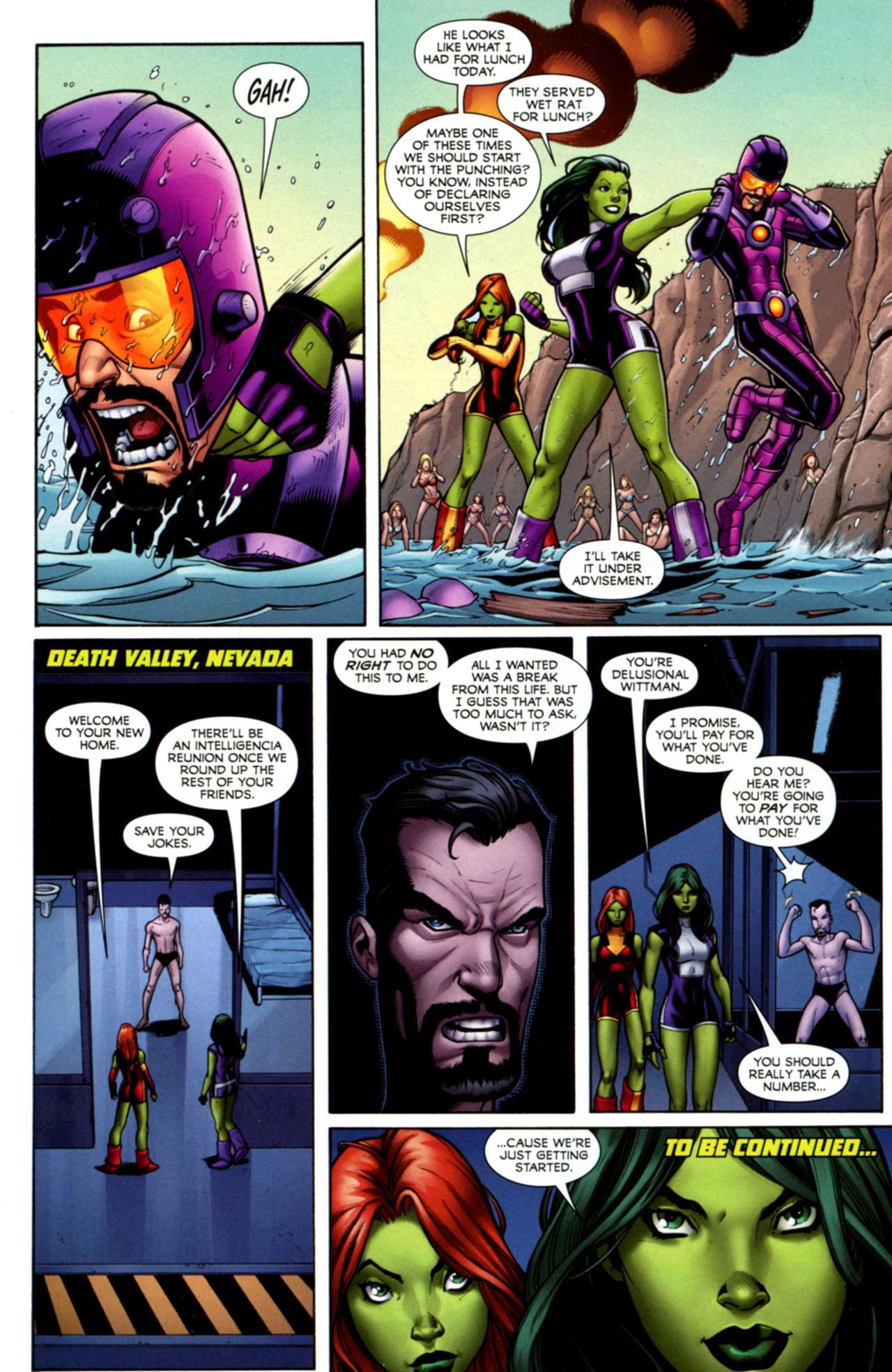 Read online She-Hulks comic -  Issue #1 - 23