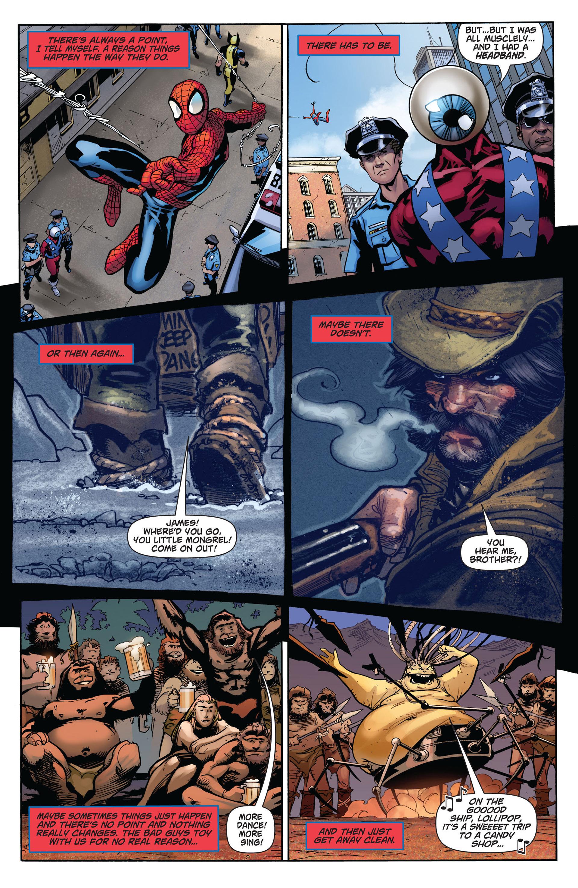 Read online Astonishing Spider-Man & Wolverine comic -  Issue #6 - 19