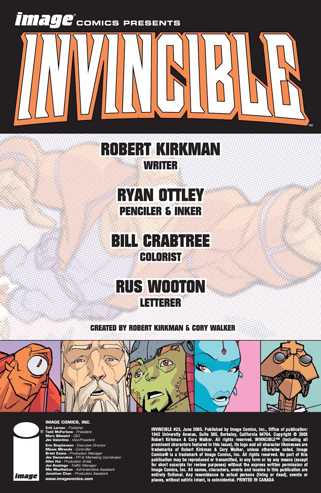 Invincible (2003) 23 Page 2