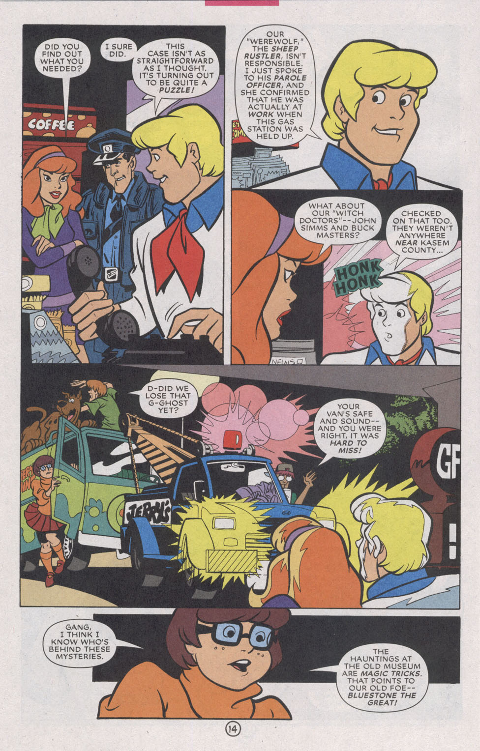 Read online Scooby-Doo (1997) comic -  Issue #74 - 22