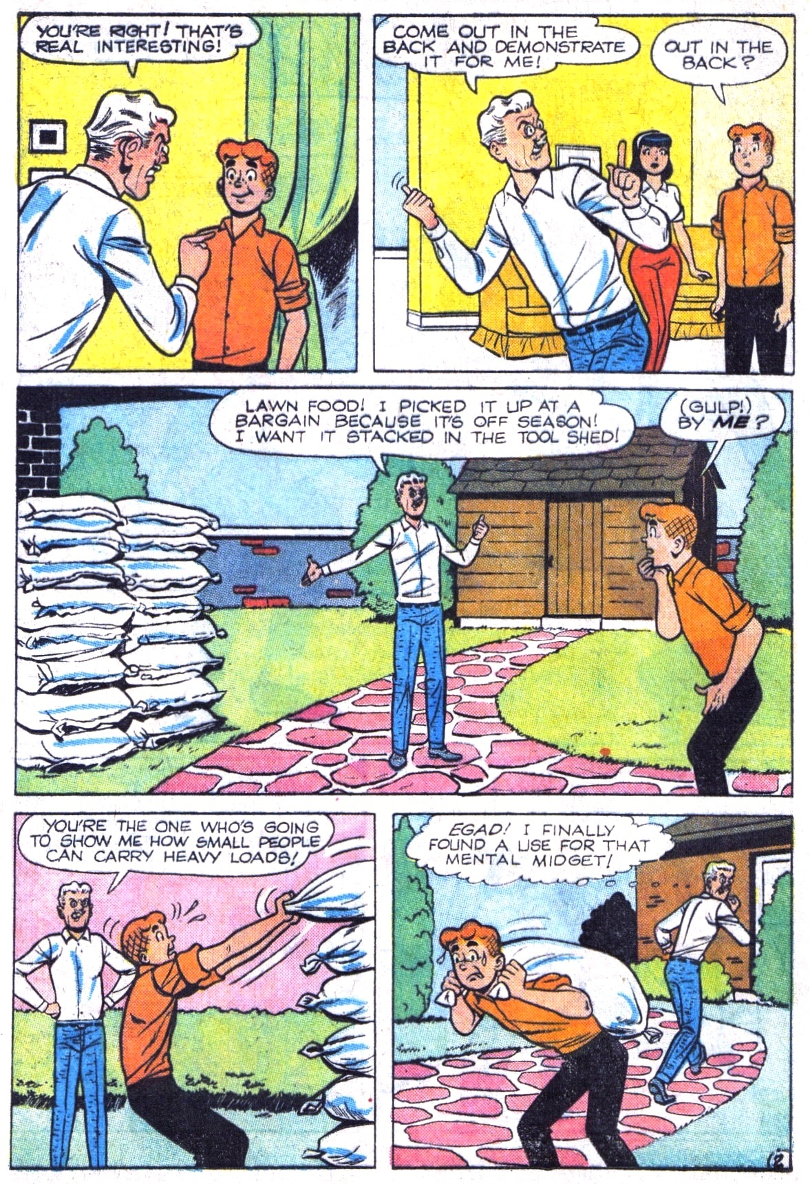 Read online Archie (1960) comic -  Issue #161 - 4