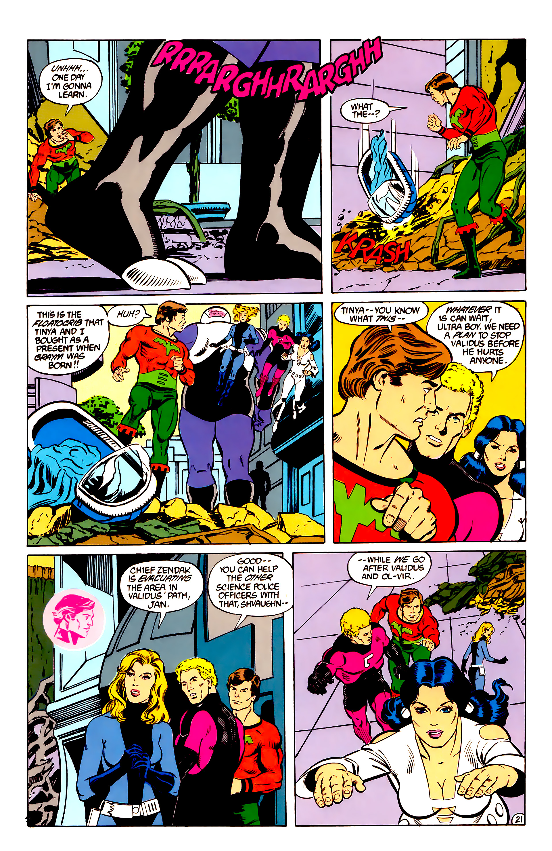 Legion of Super-Heroes (1984) _Annual_2 Page 22