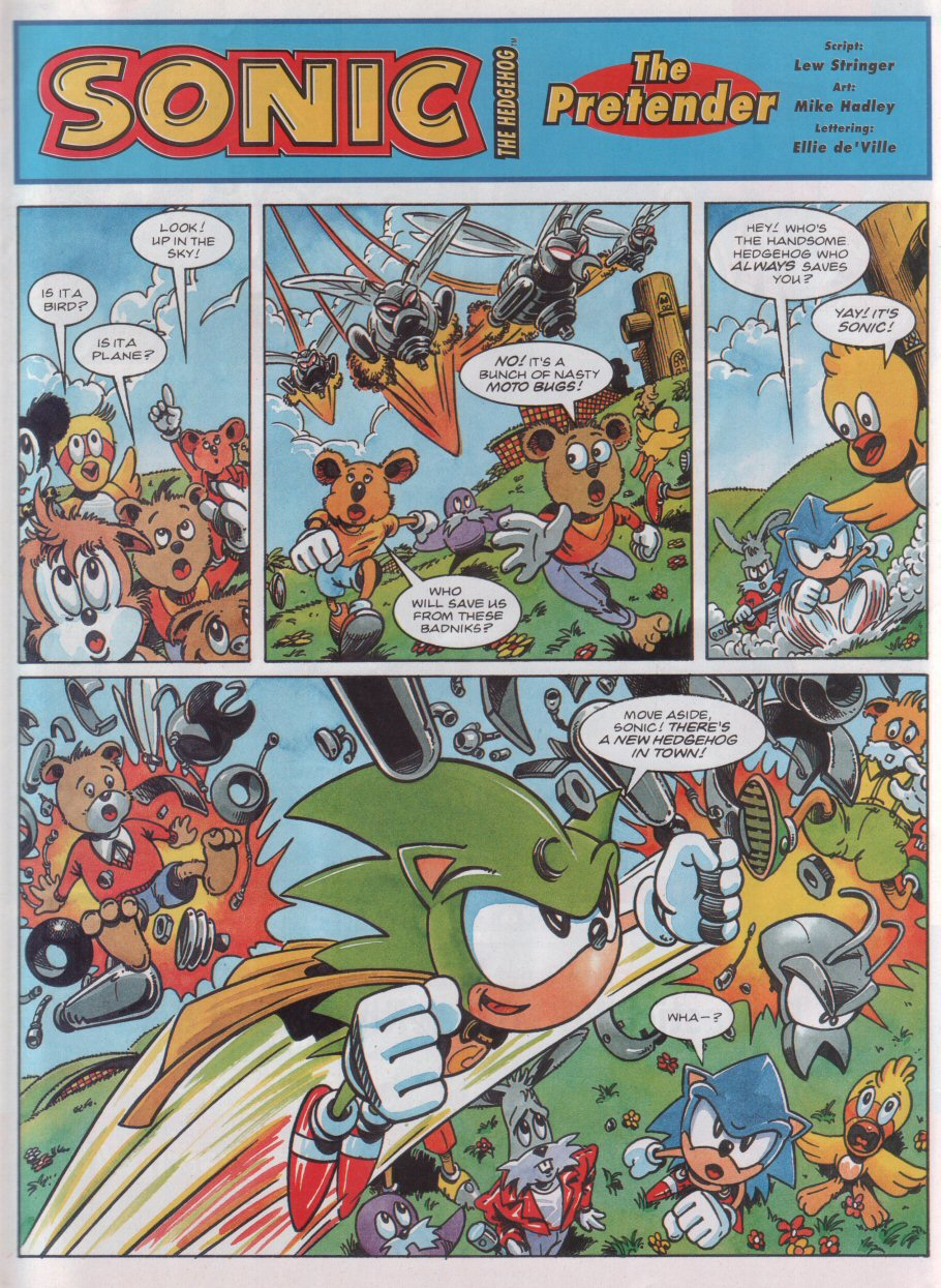 Read online Sonic the Comic comic -  Issue #31 - 3