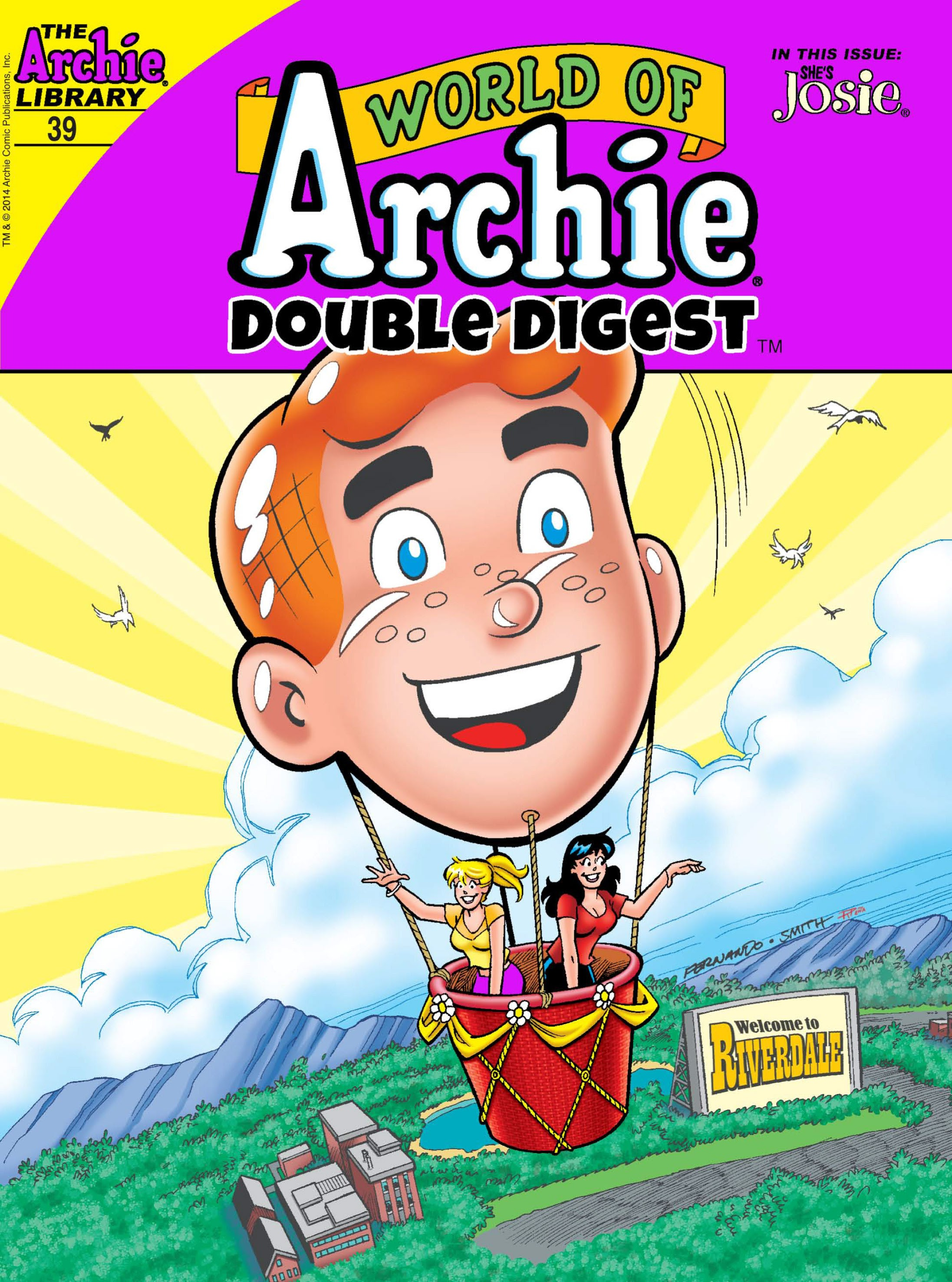 World of Archie Double Digest 39 Page 1