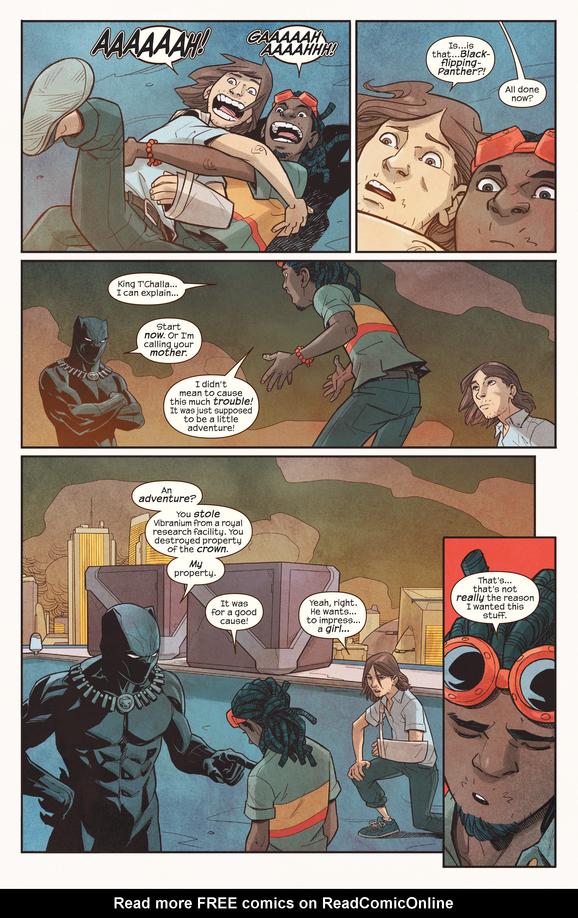 Read online Ms. Marvel (2016) comic -  Issue #18 - 20