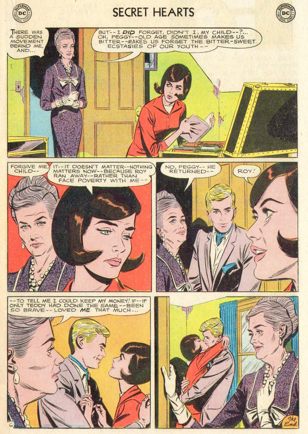 Read online Secret Hearts comic -  Issue #104 - 19