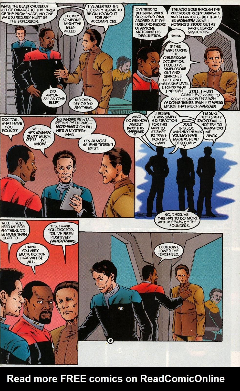 Read online Star Trek: Deep Space Nine (1993) comic -  Issue # _Special 1 - 45