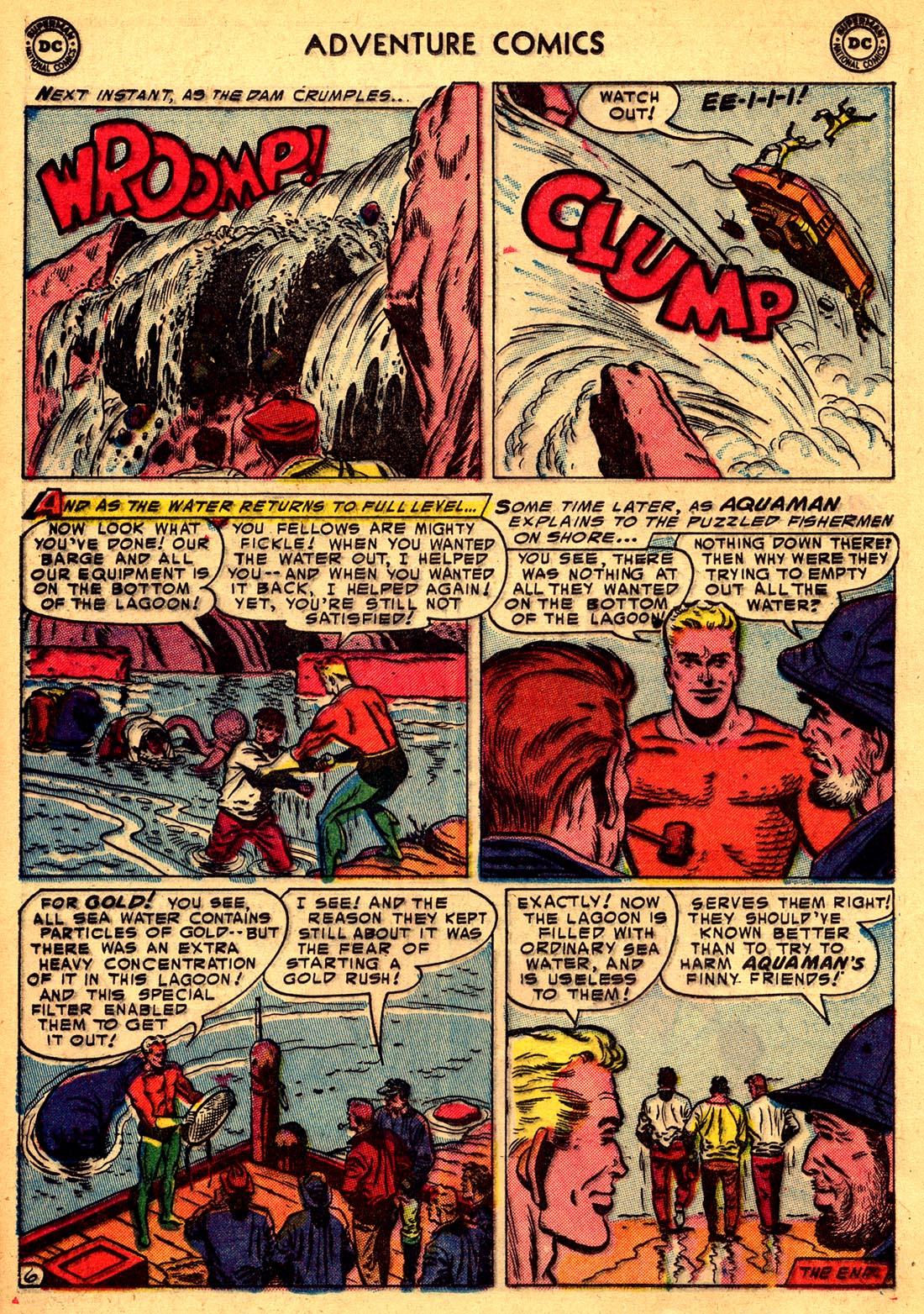 Read online Adventure Comics (1938) comic -  Issue #204 - 22