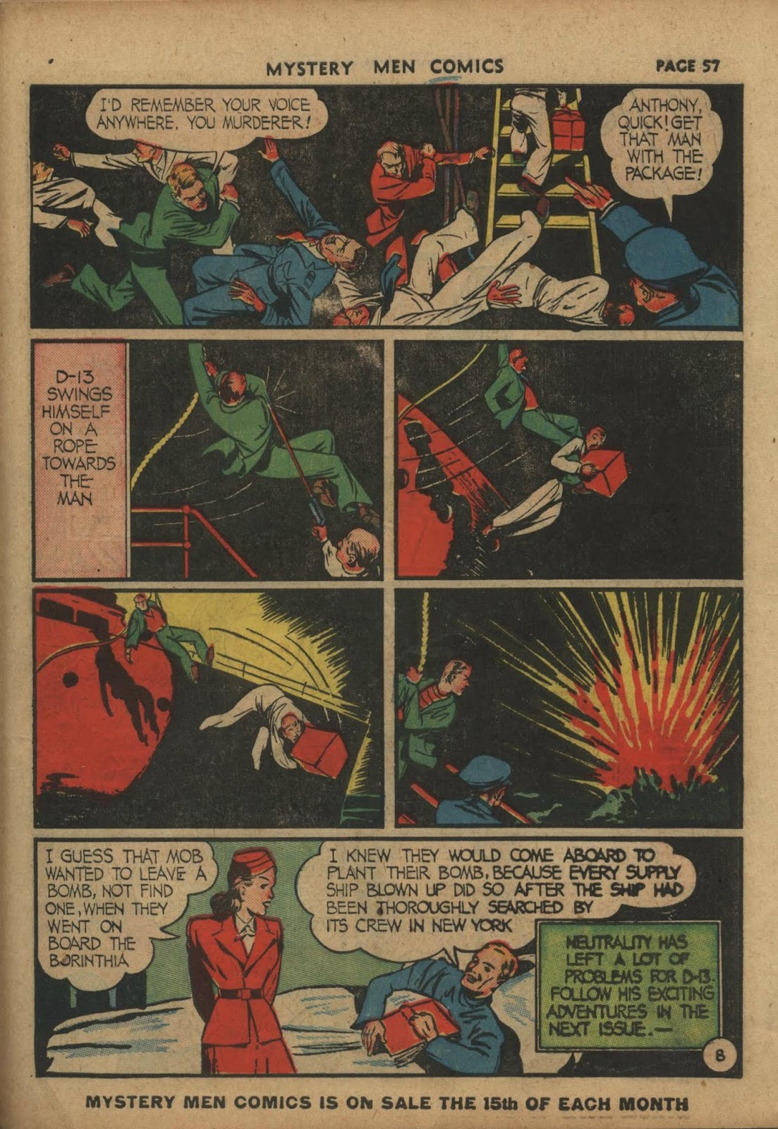 Mystery Men Comics issue 10 - Page 59