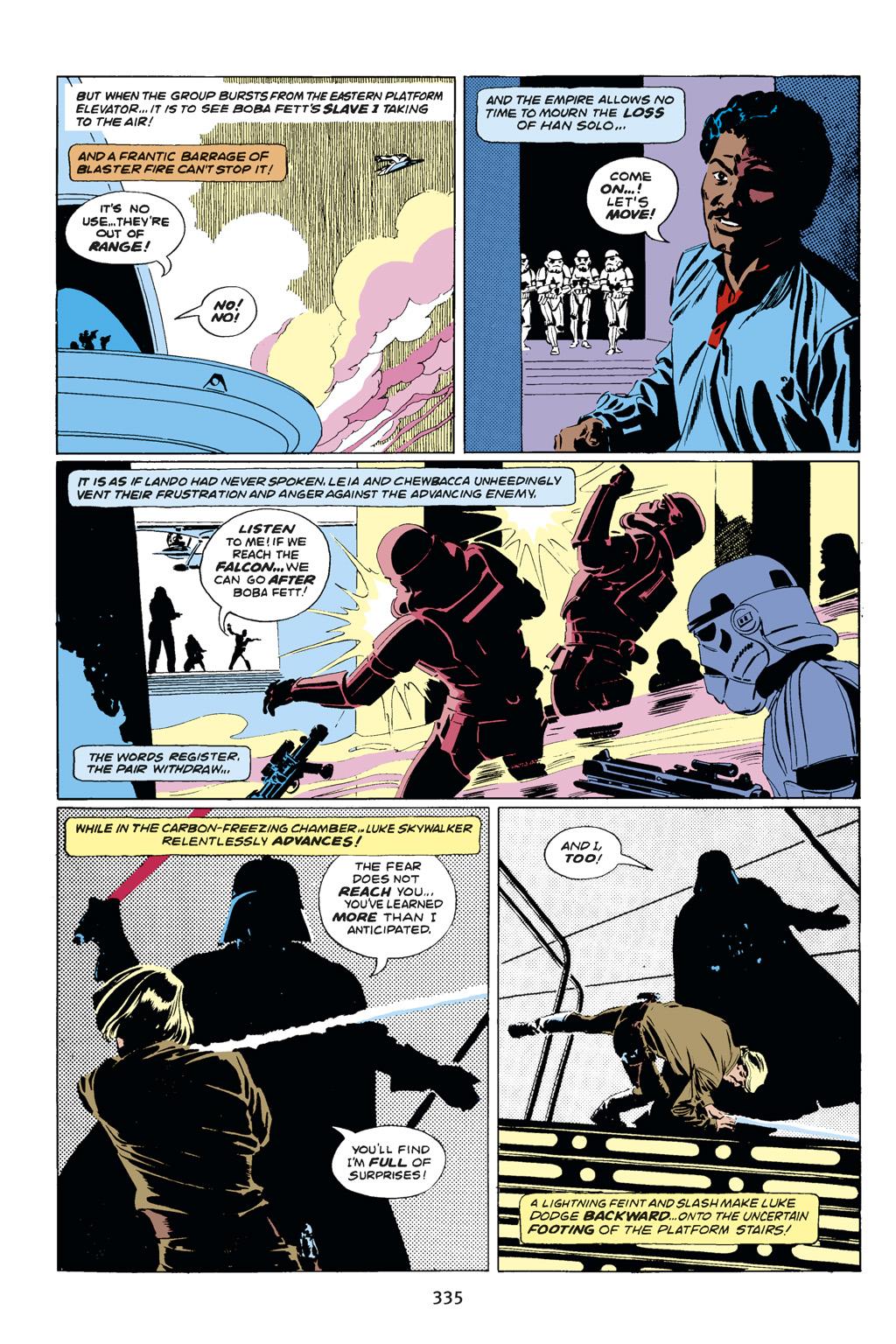 Read online Star Wars Omnibus comic -  Issue # Vol. 14 - 333