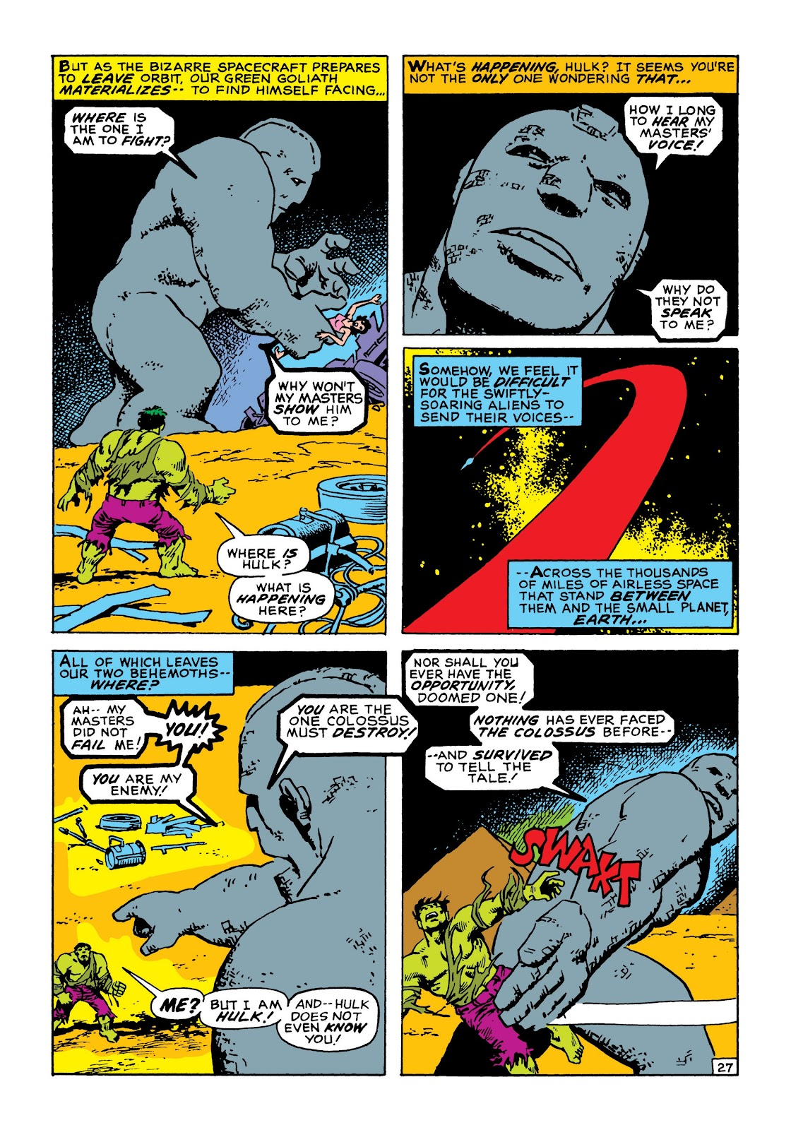 Read online Marvel Masterworks: The Incredible Hulk comic -  Issue # TPB 8 (Part 1) - 34