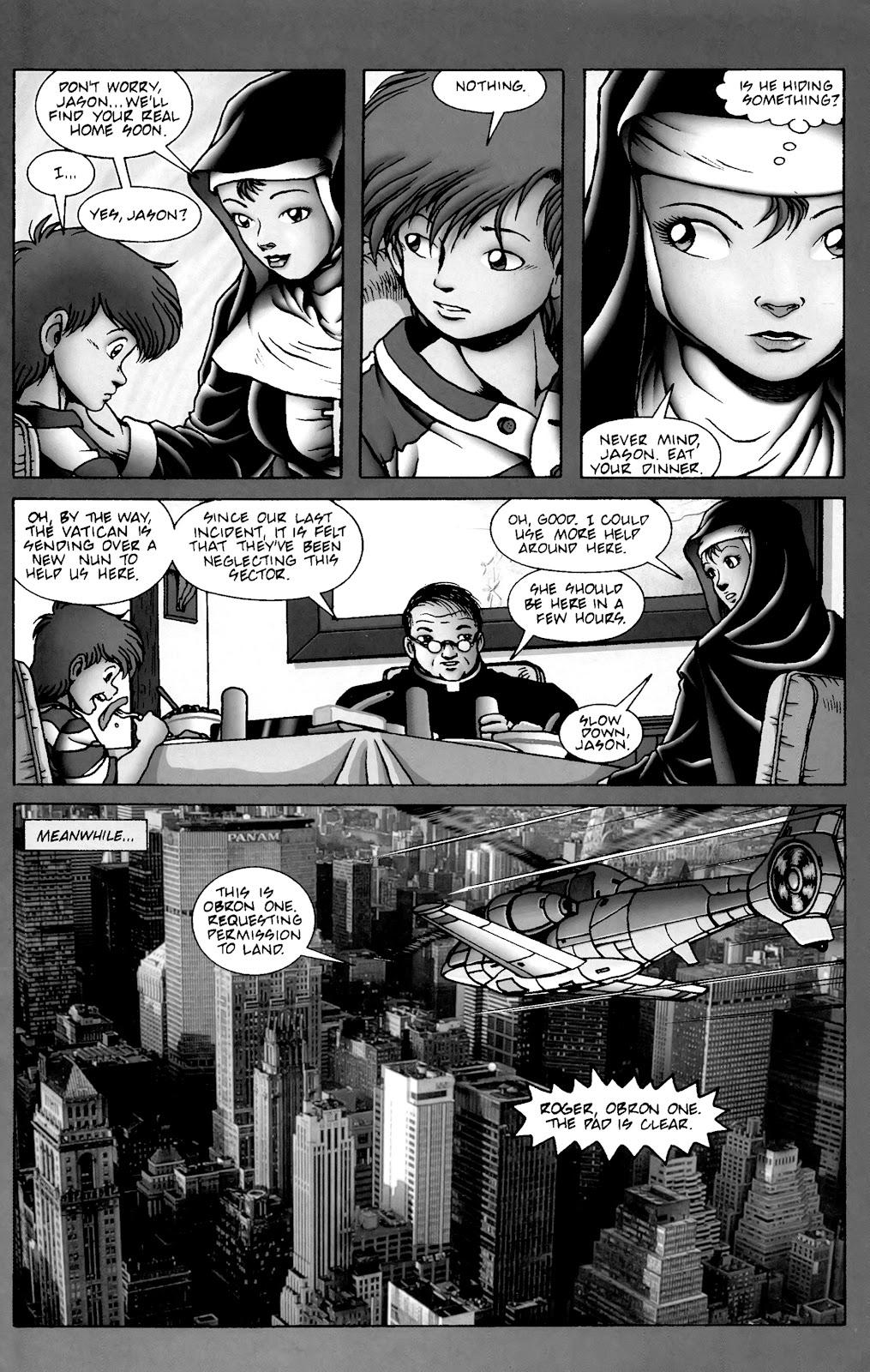 Warrior Nun Areala:  Dangerous Game Issue #2 #2 - English 24