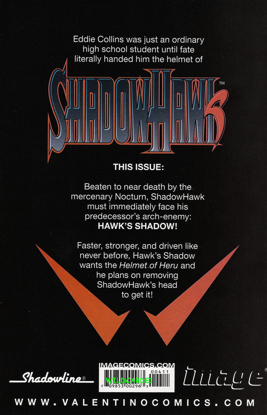 Read online ShadowHawk (2005) comic -  Issue #4 - 29